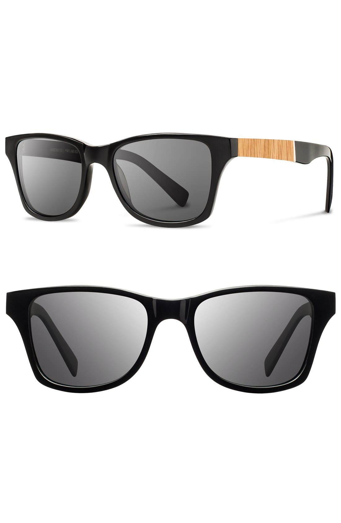 'Canby' 53mm Wood Sunglasses,                             Main thumbnail 2, color,