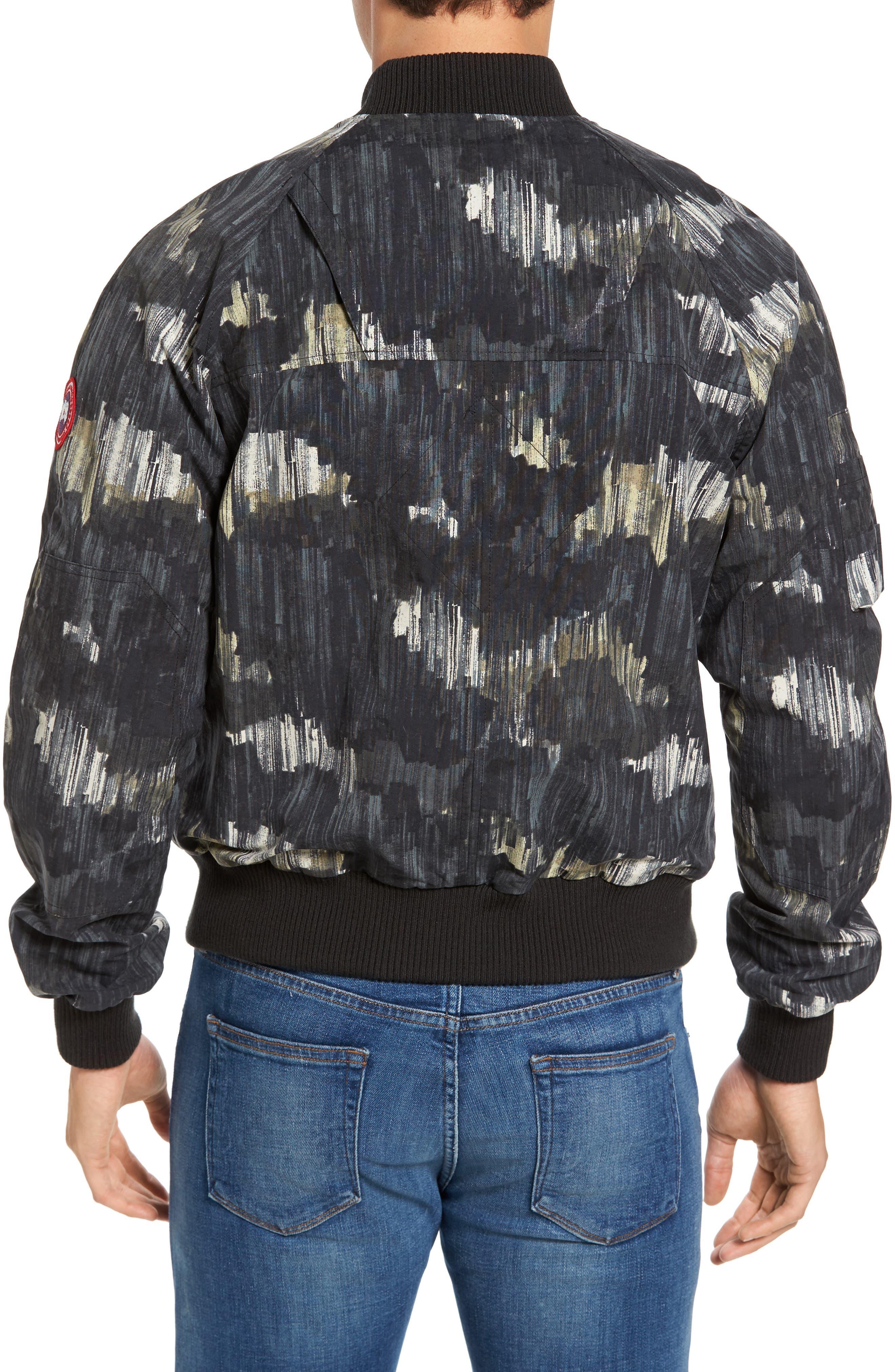Faber Slim Fit Bomber Jacket,                             Alternate thumbnail 2, color,                             NOCTURNE PRINT