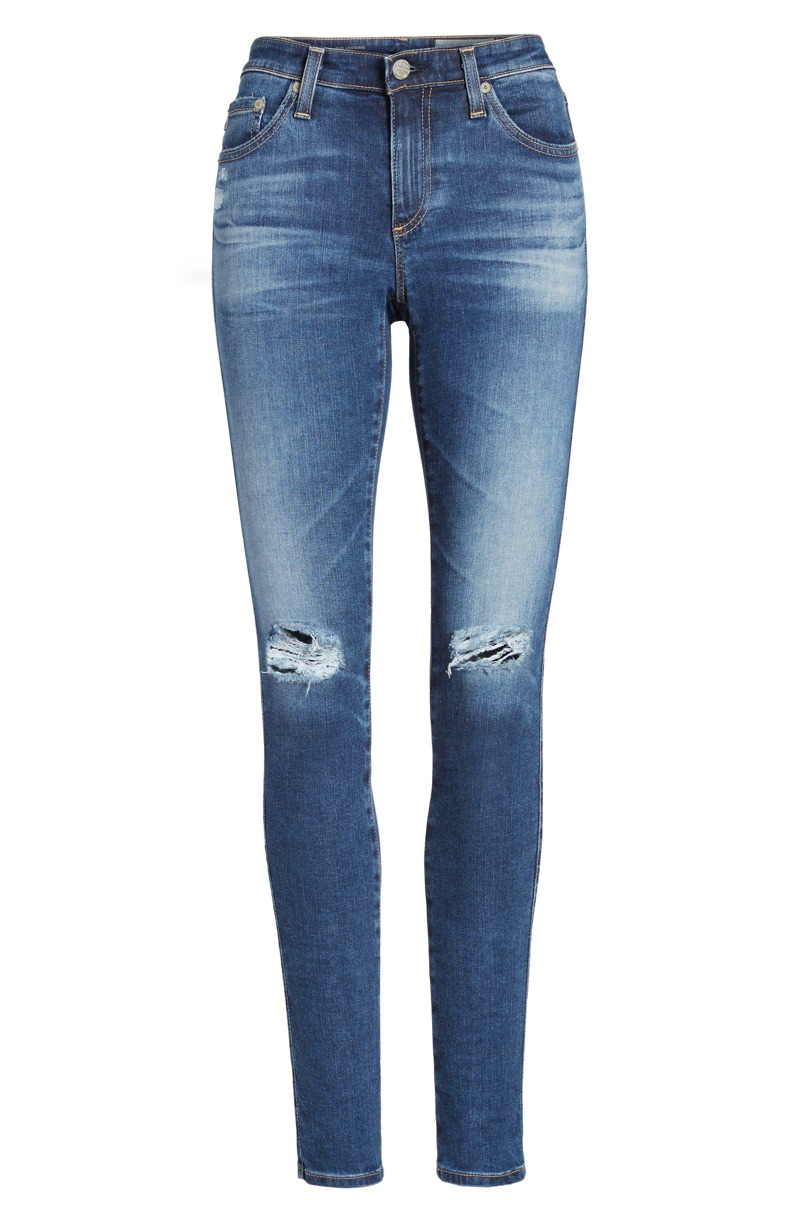 'The Legging' Super Skinny Jeans,                             Alternate thumbnail 57, color,