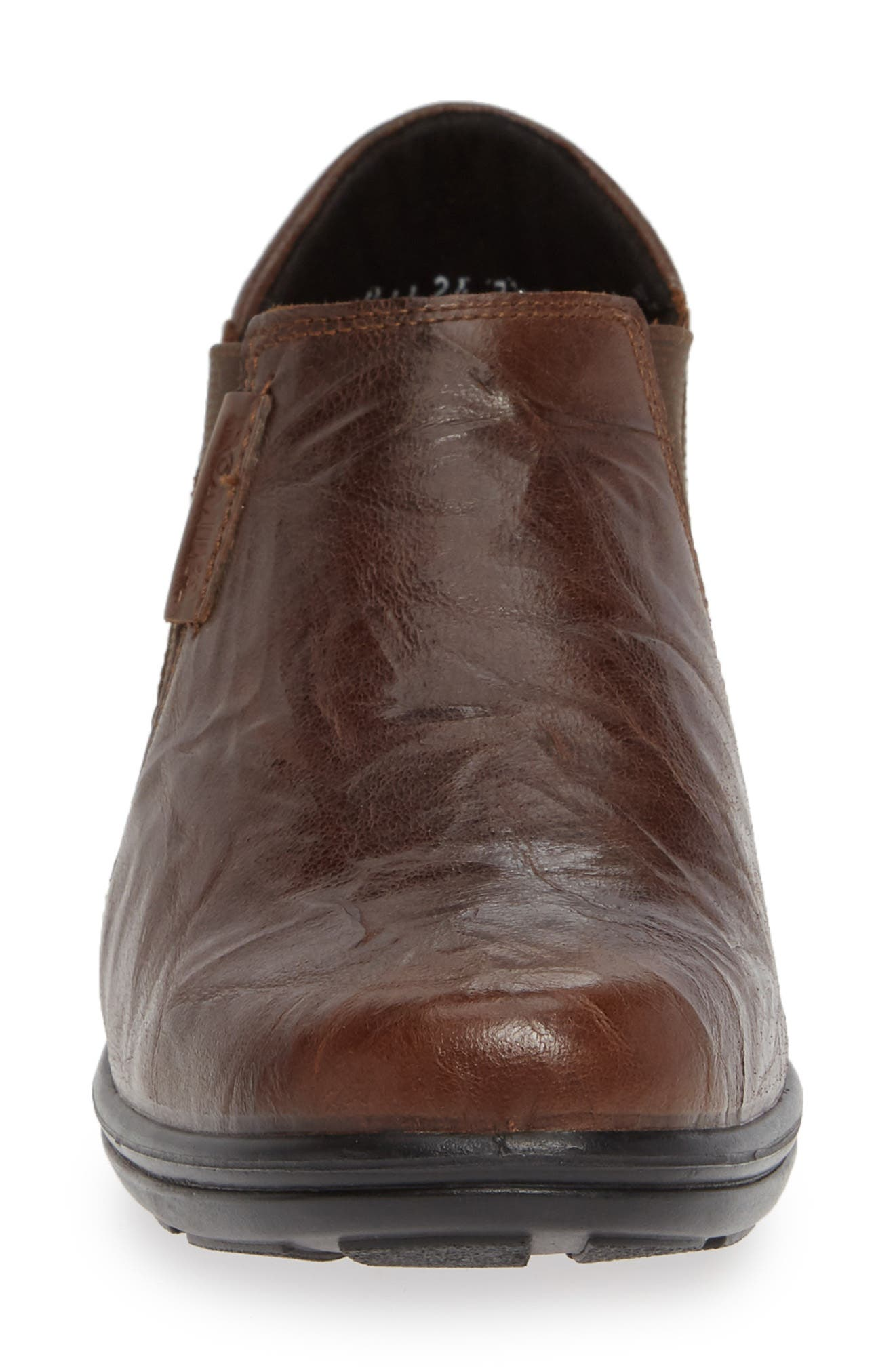 Cassie 44 Ankle Bootie,                             Alternate thumbnail 4, color,                             MORO BO BROWN