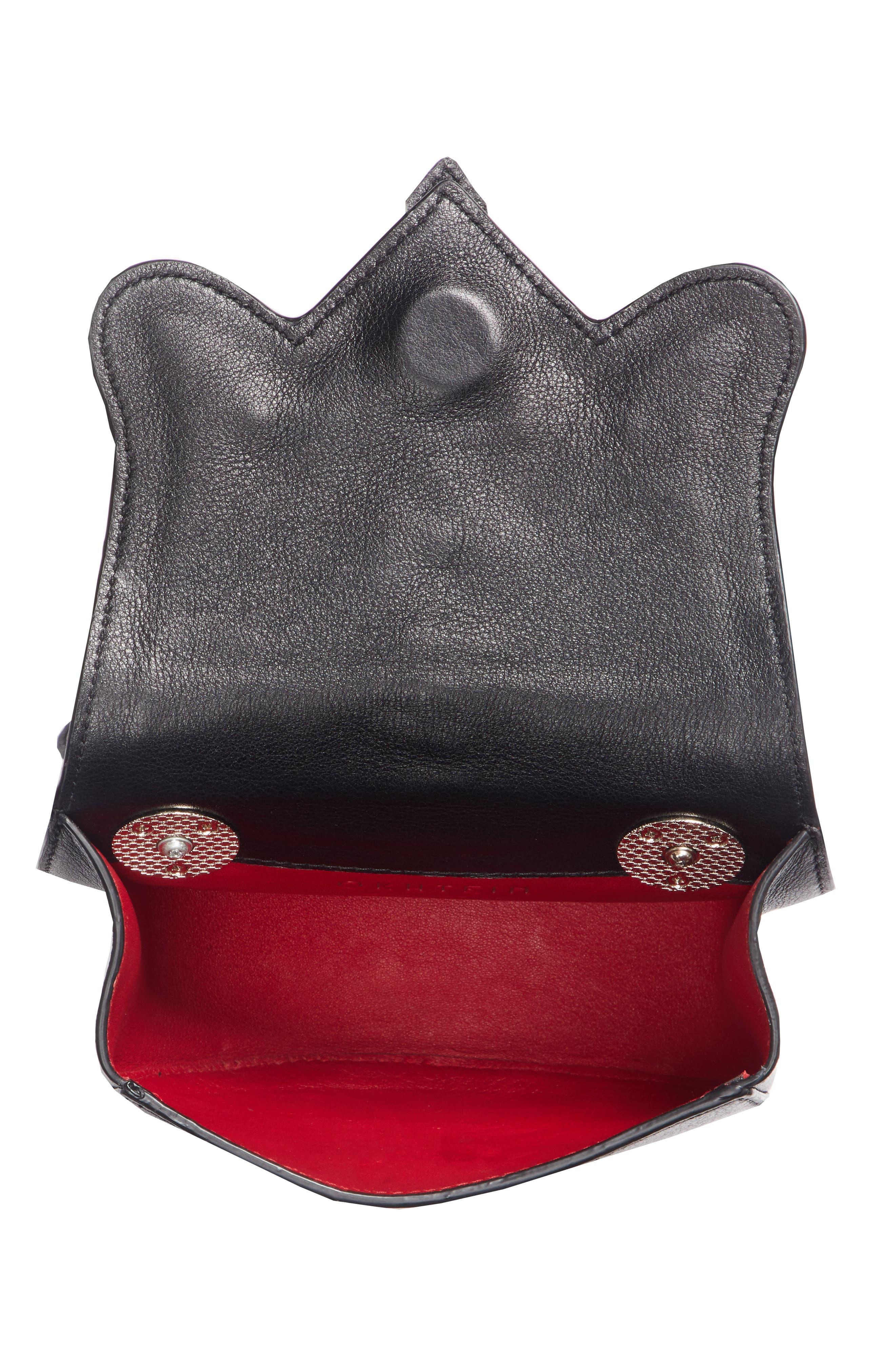 Dome Belt Bag,                             Alternate thumbnail 4, color,                             BLACK X SILVER