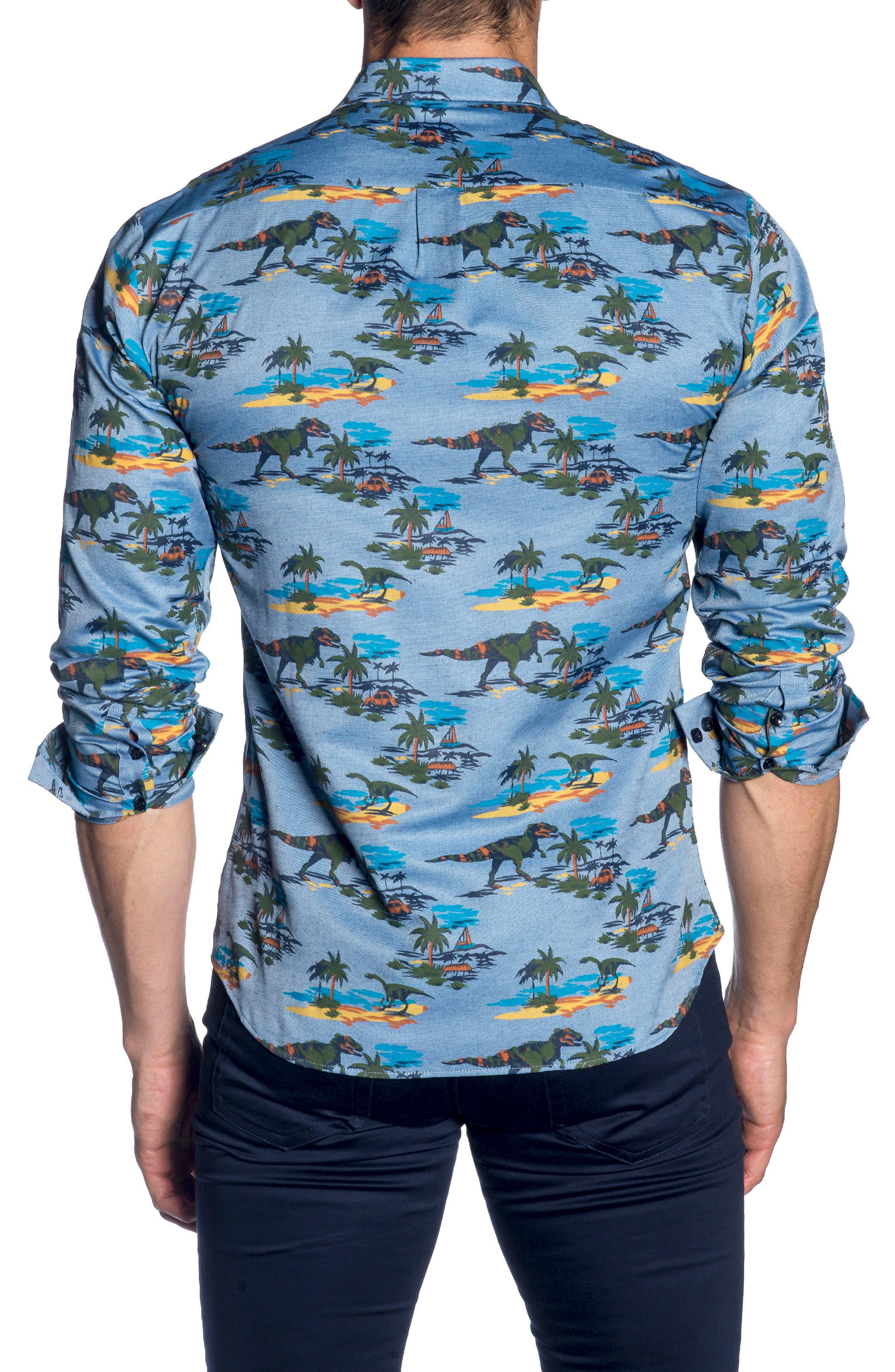 Trim Fit Sport Shirt,                             Alternate thumbnail 2, color,                             426