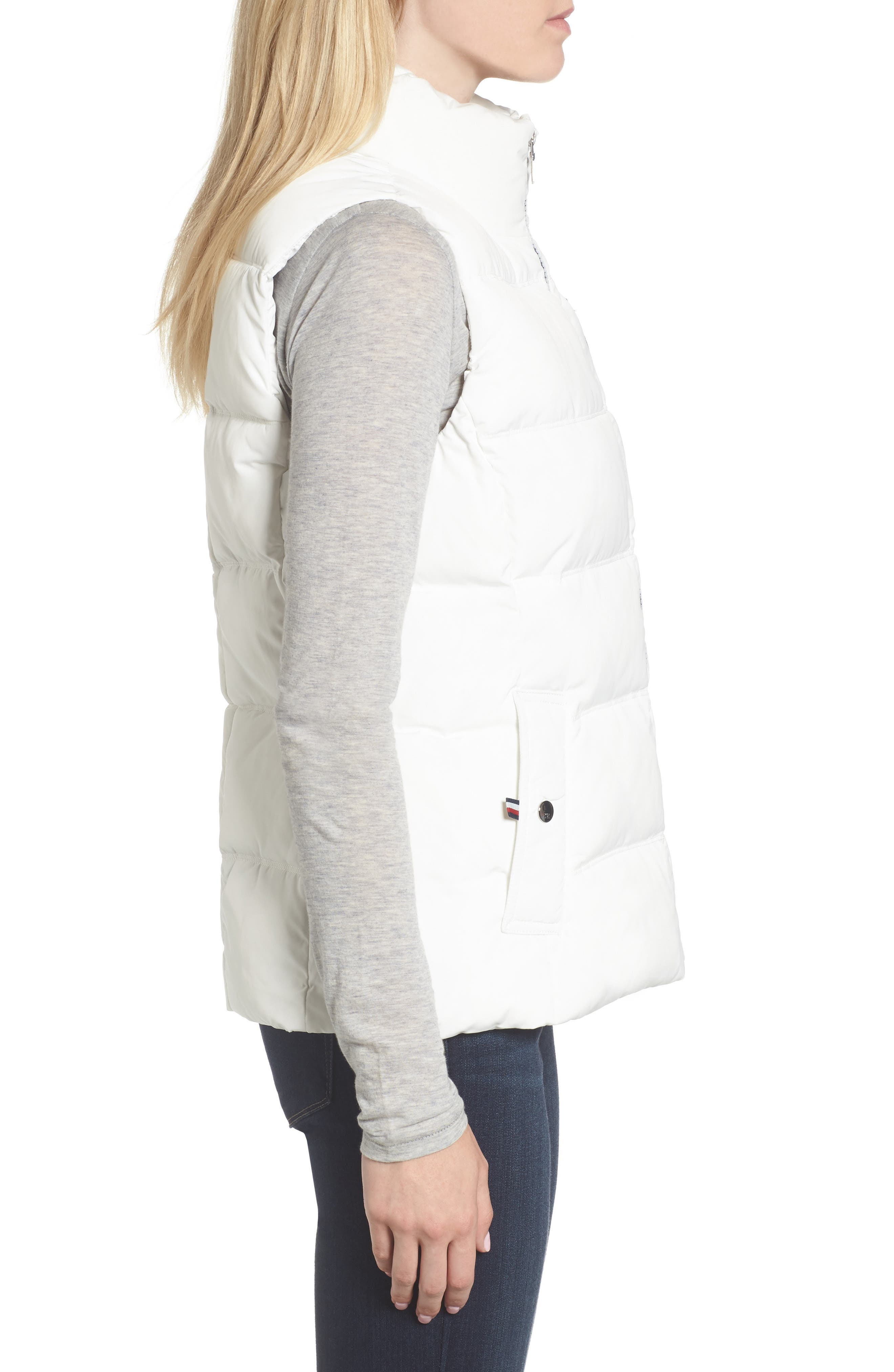 Quilted Puffer Vest,                             Alternate thumbnail 3, color,                             100