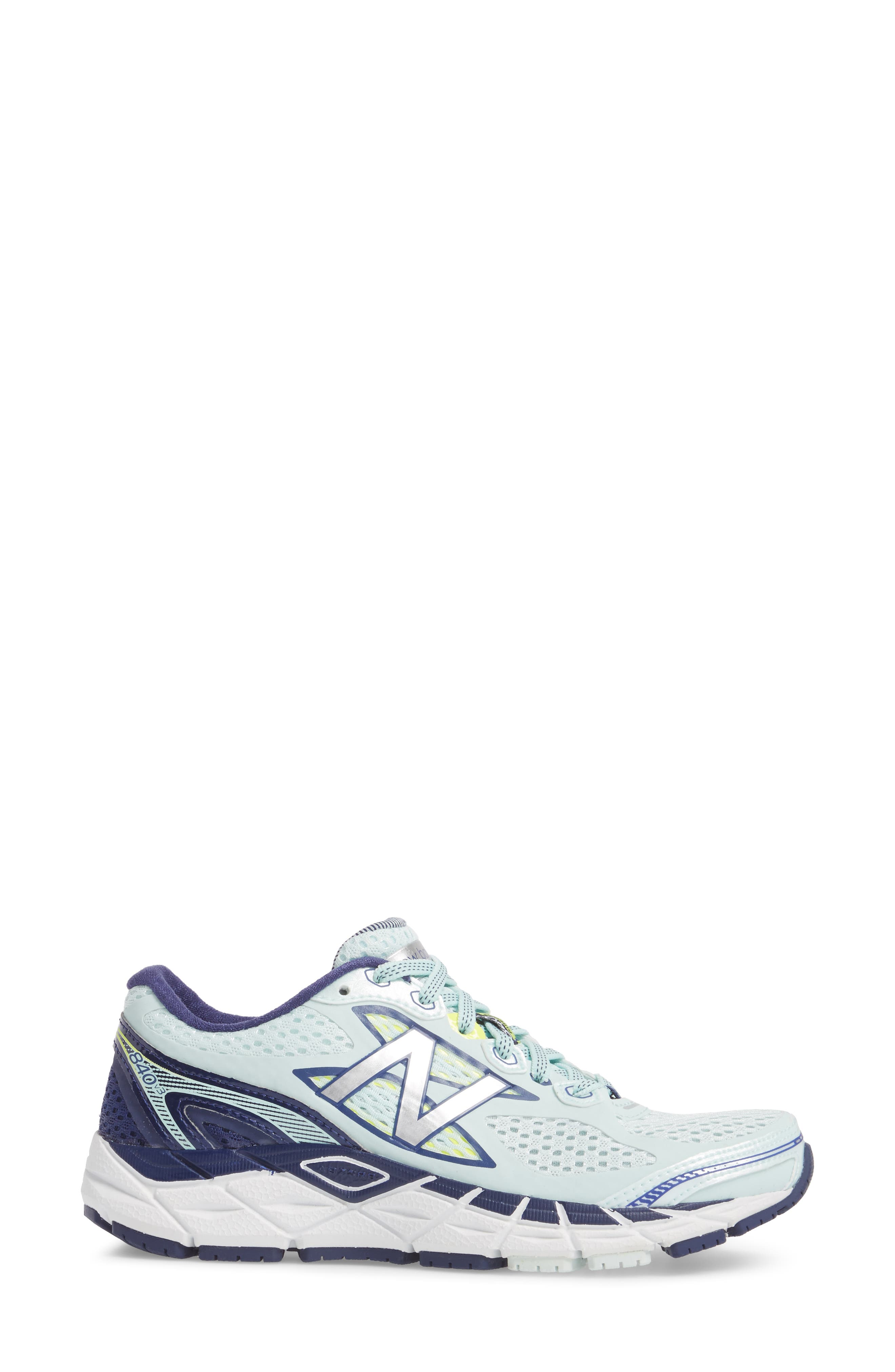 '840v3' Running Shoe,                             Alternate thumbnail 3, color,                             DROPLET