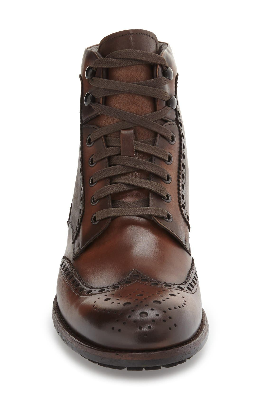 Maddox Wingtip Boot,                             Alternate thumbnail 6, color,