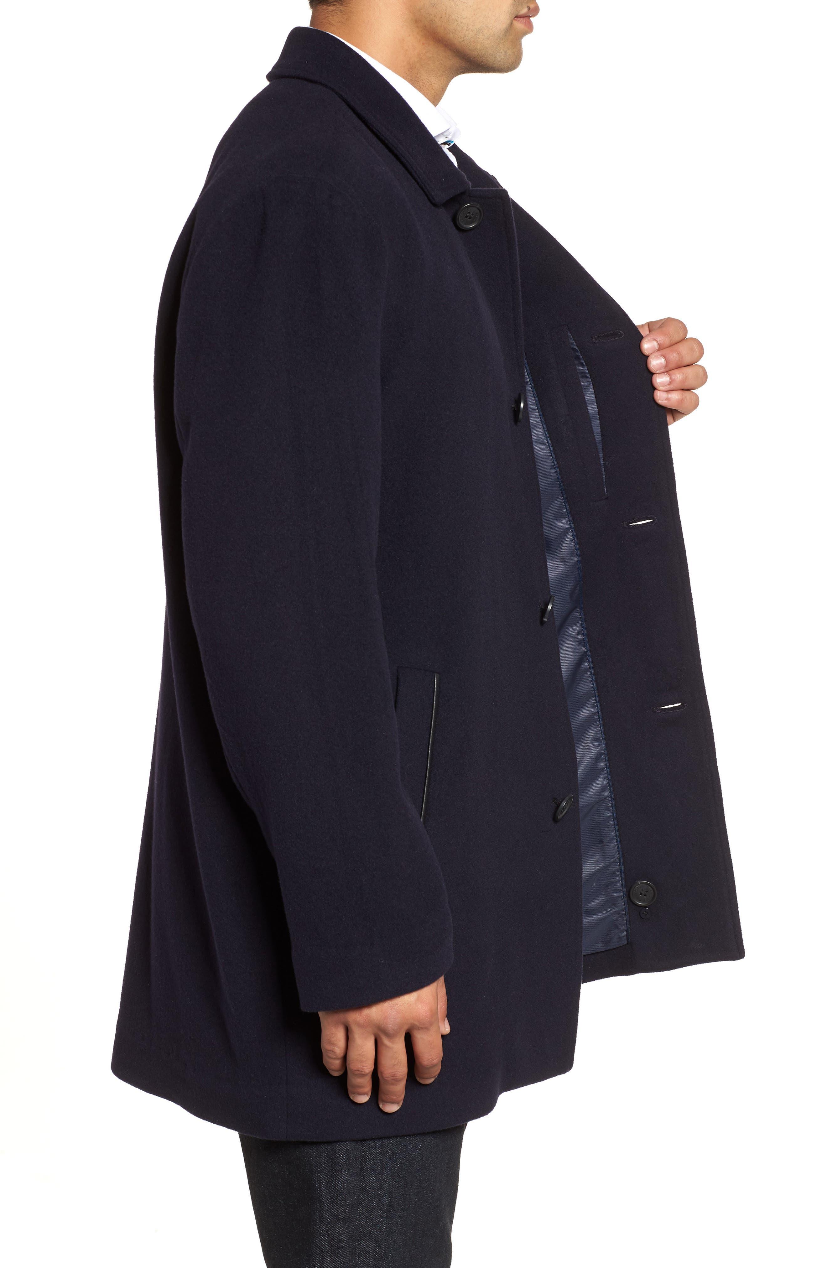 Italian Wool Blend Overcoat,                             Alternate thumbnail 10, color,