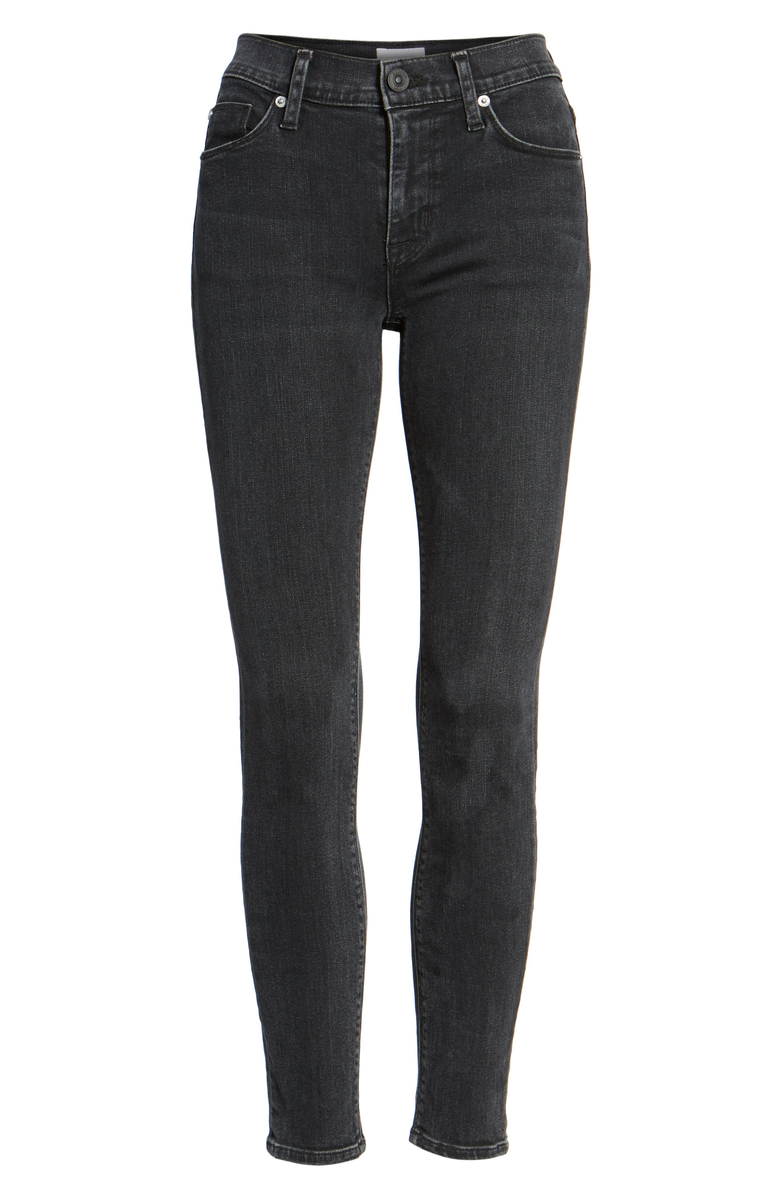 Nico Ankle Skinny Jeans,                             Alternate thumbnail 7, color,                             004