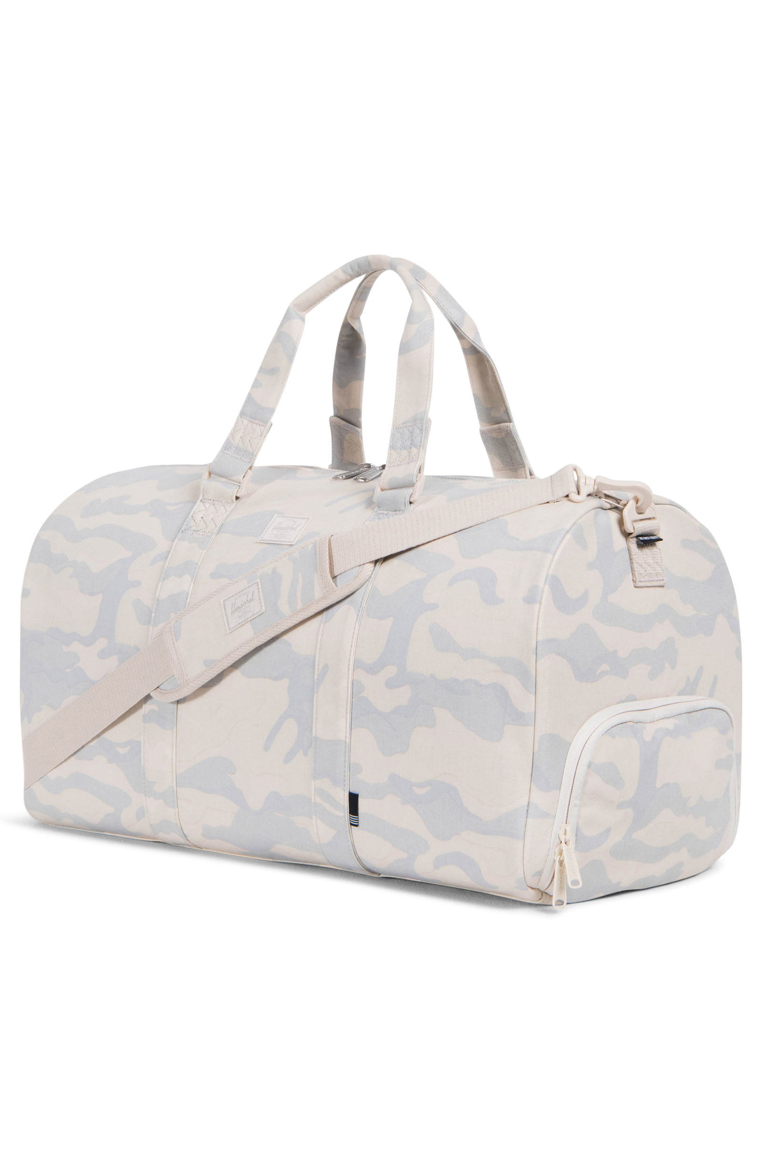 Novel Cotton Canvas Duffel Bag,                             Alternate thumbnail 3, color,                             250