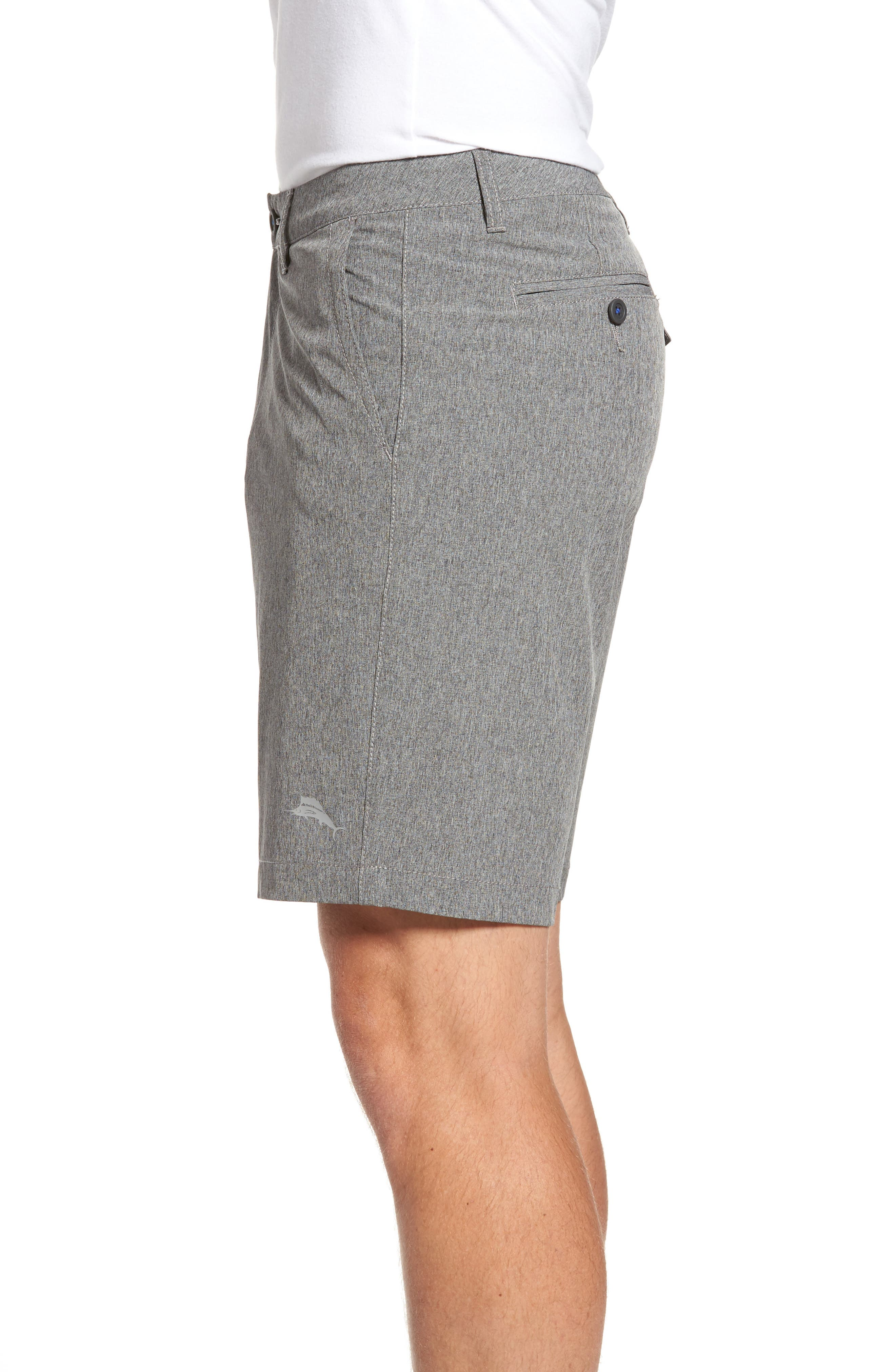 Cayman Isles Hybrid Swim Shorts,                             Alternate thumbnail 3, color,                             001