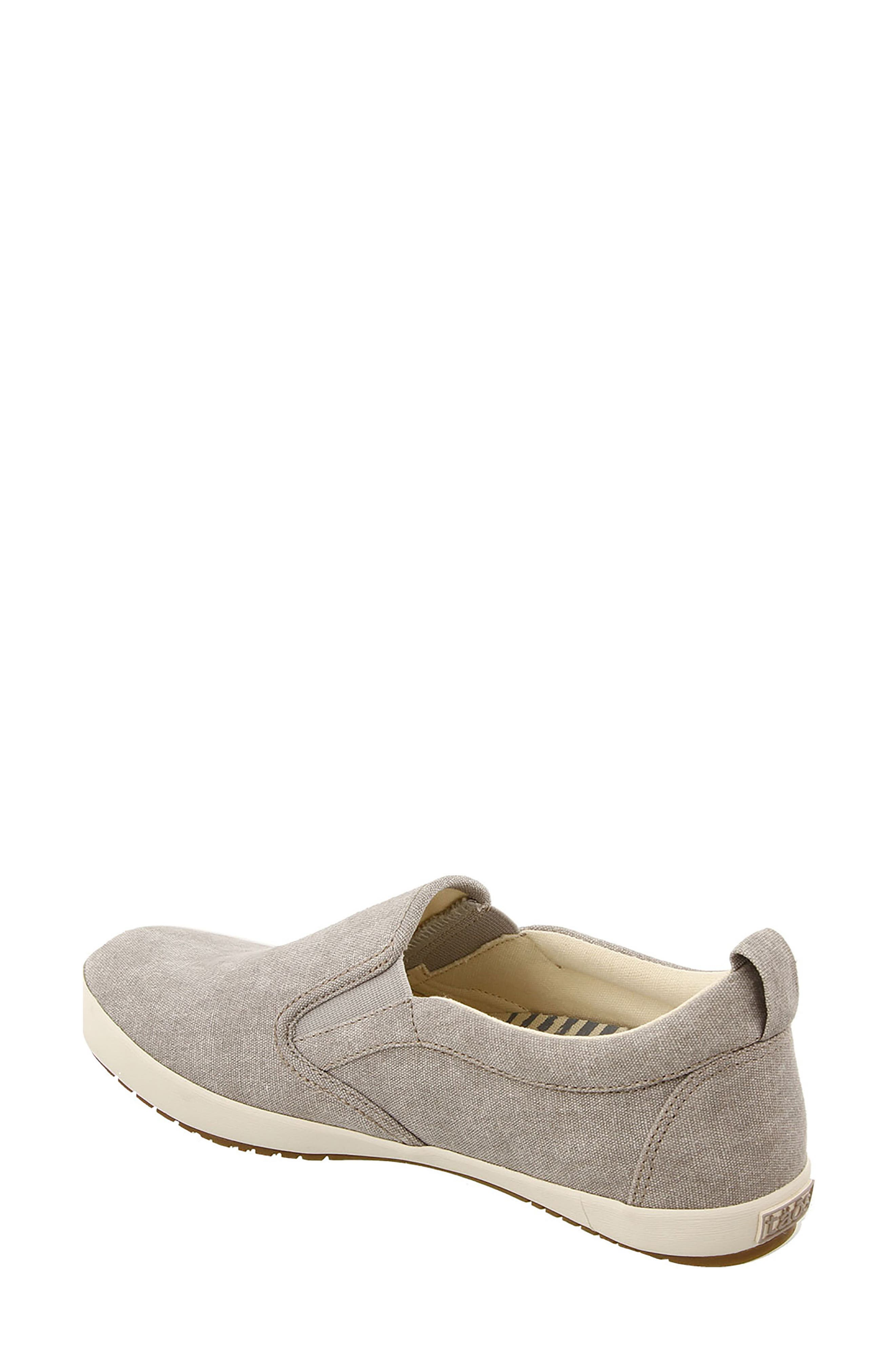 Dandy Slip-On Sneaker,                             Alternate thumbnail 2, color,                             GREY WASHED CANVAS