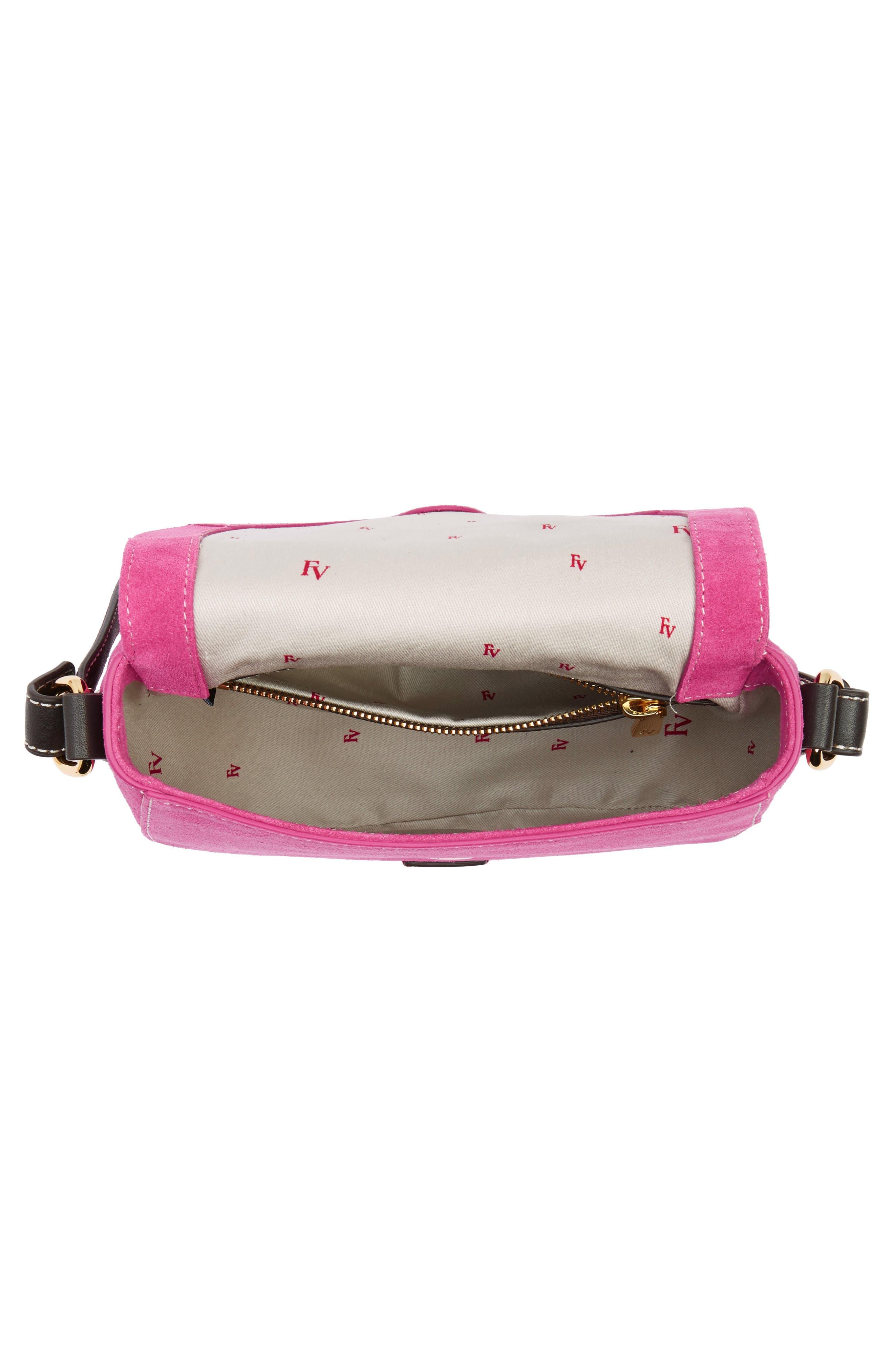 Mini Ellen Suede Crossbody Bag,                             Alternate thumbnail 12, color,