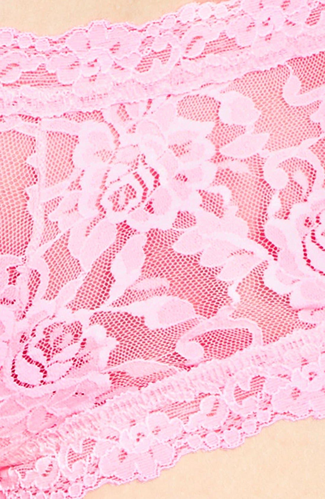 'Signature Lace' Boyshorts,                             Alternate thumbnail 345, color,