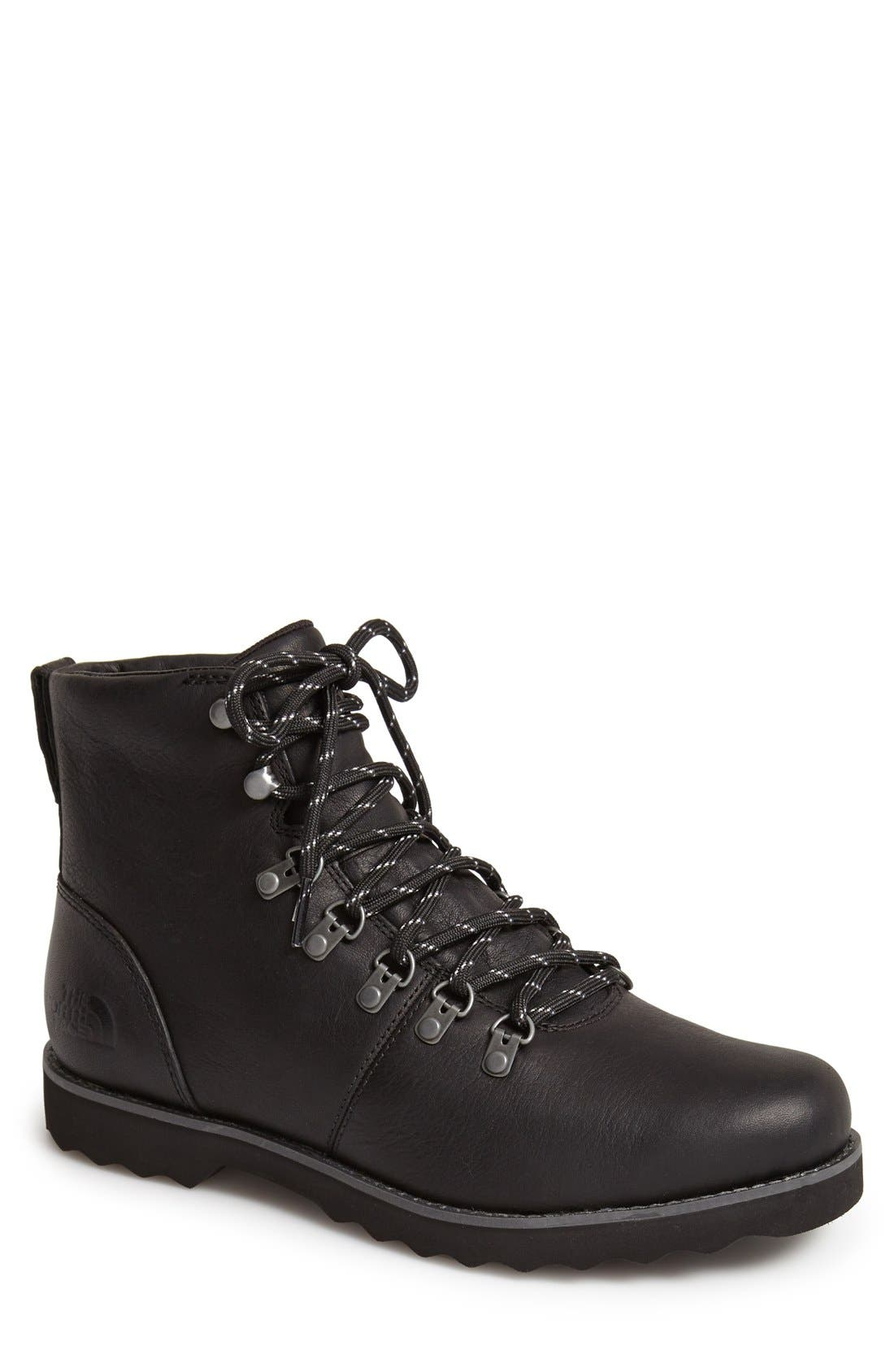 'Ballard II' Waterproof Leather Boot,                             Main thumbnail 1, color,                             001