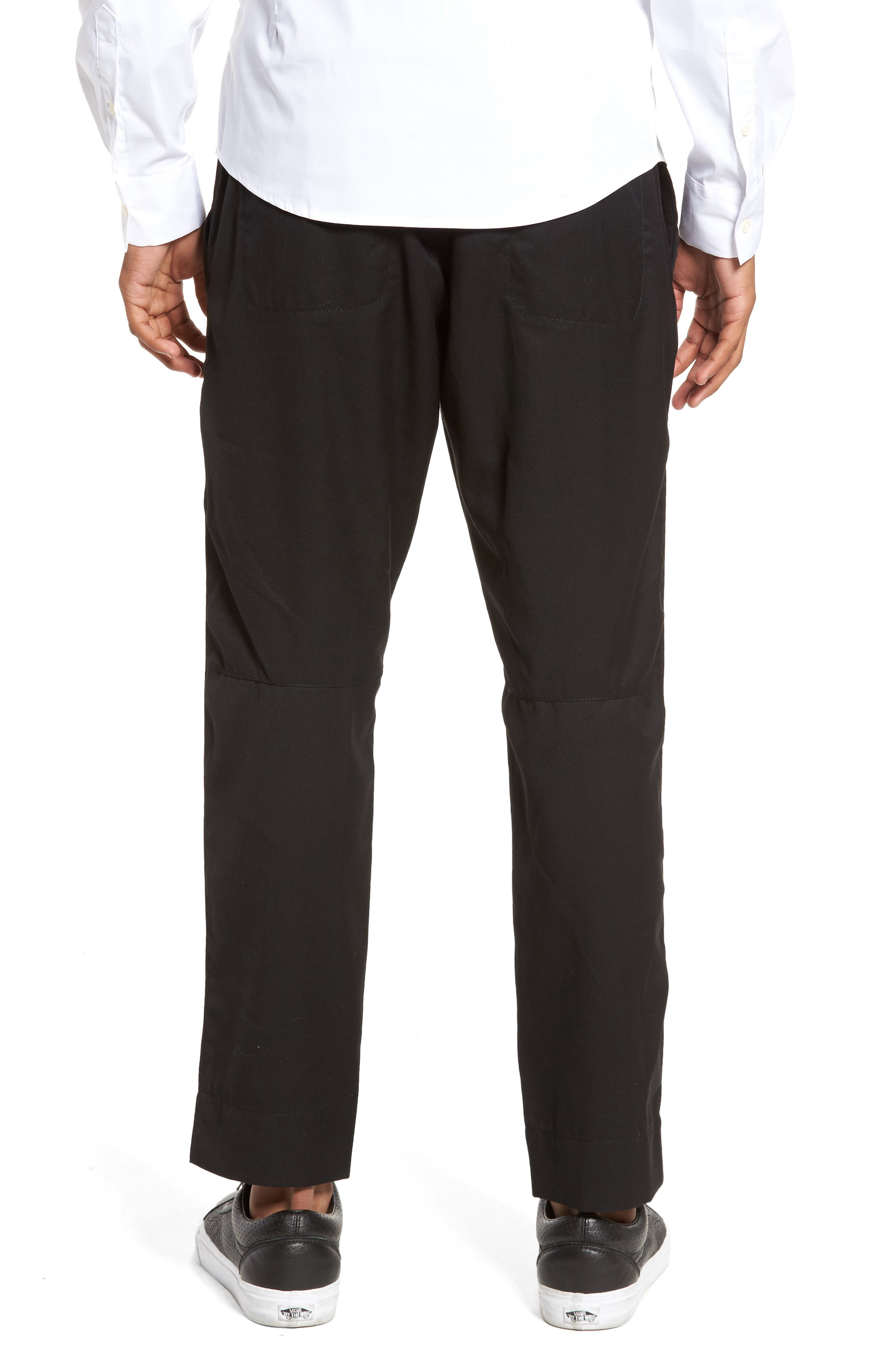 Drawstring Zip Pocket Pants,                             Alternate thumbnail 2, color,                             001