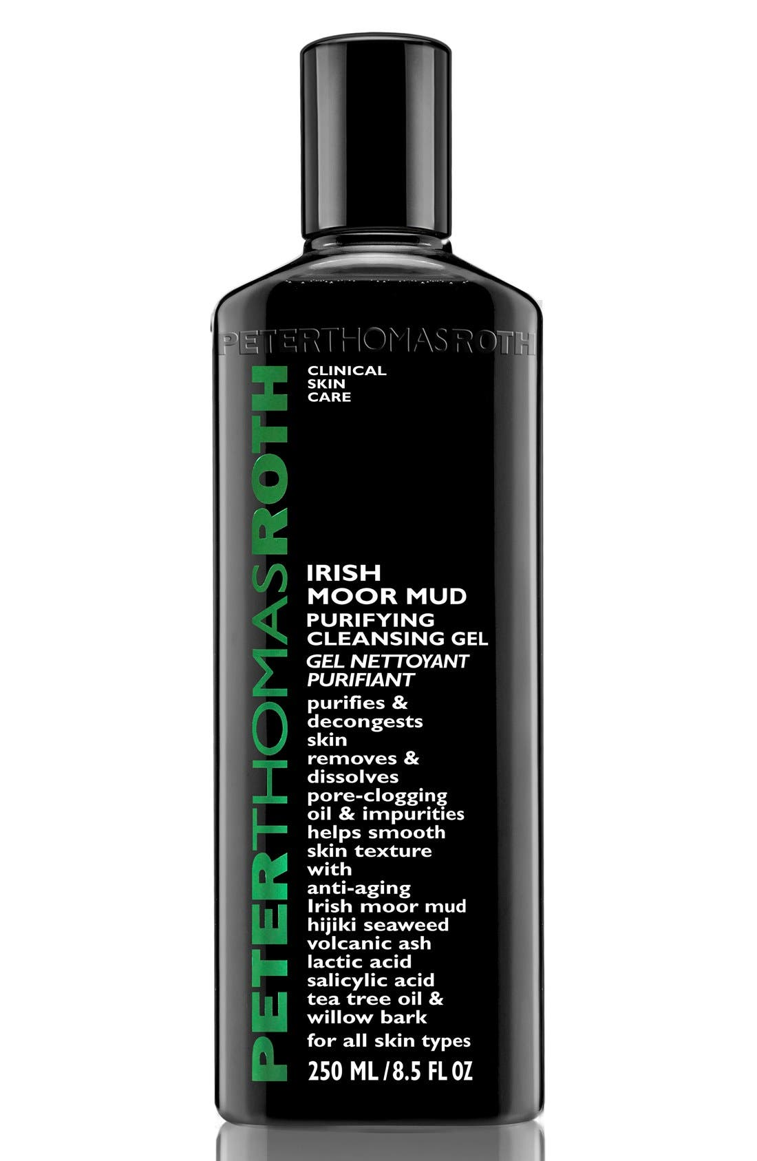 'Irish Moor Mud' Purifying Cleansing Gel,                         Main,                         color, NO COLOR