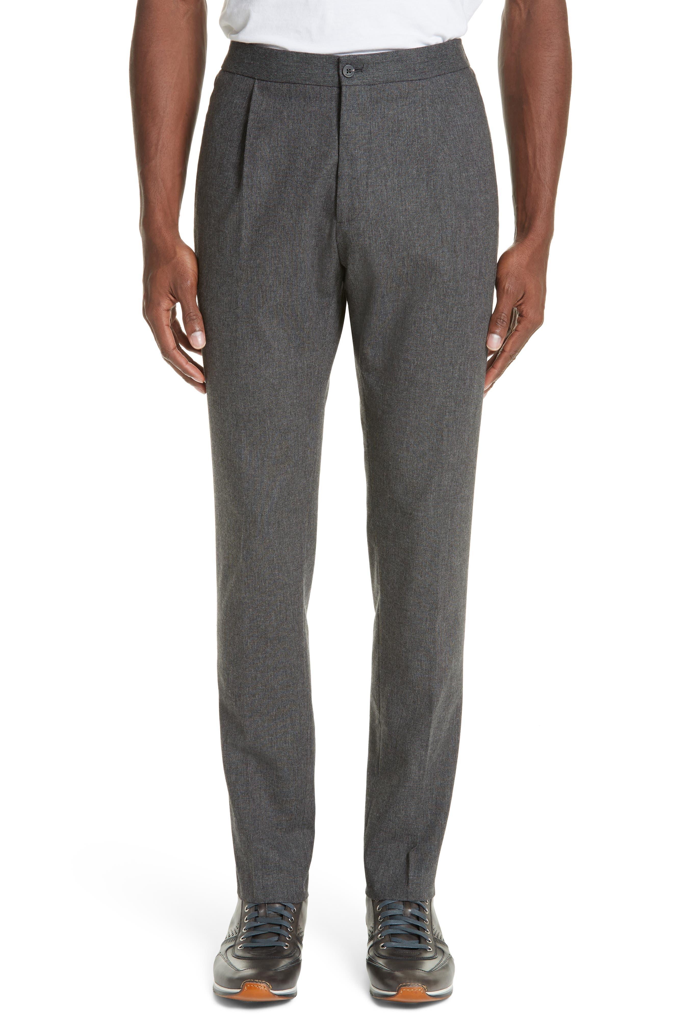 Trim Fit Sport Trousers,                         Main,                         color, CHARCOAL