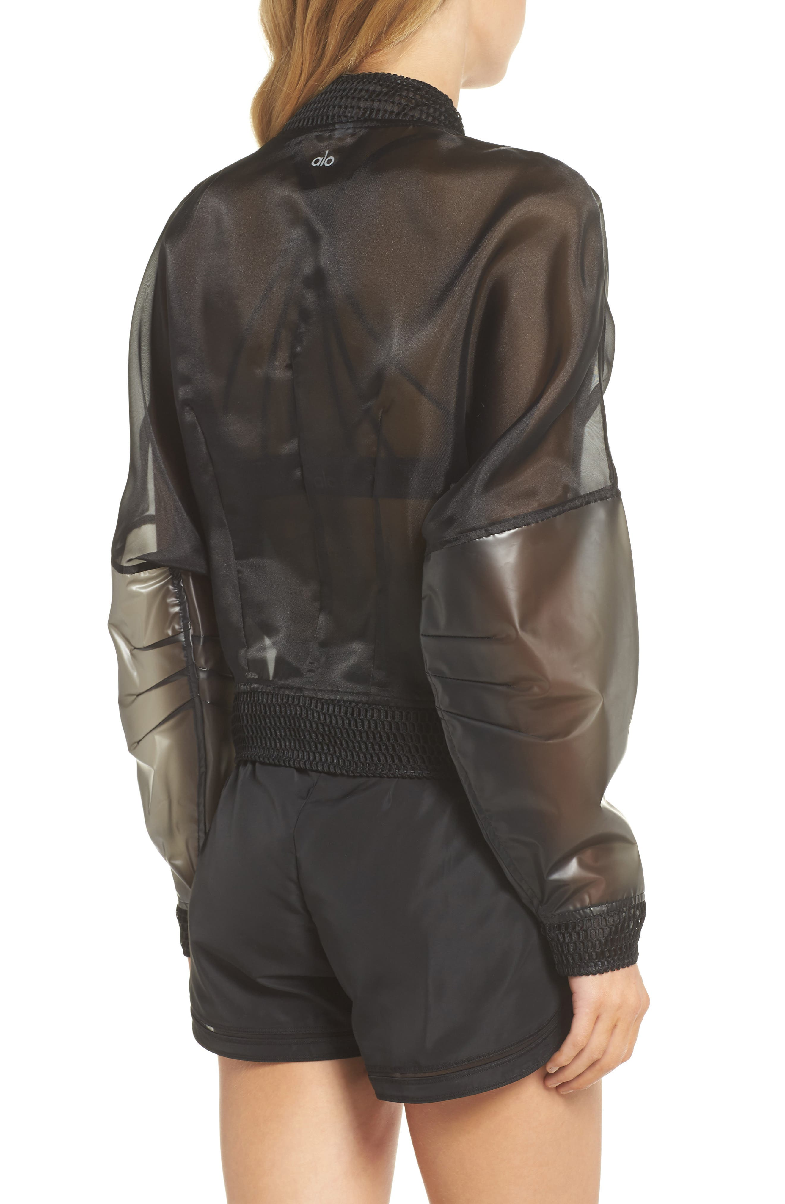 ALO,                             Translucent Jacket,                             Alternate thumbnail 2, color,                             011