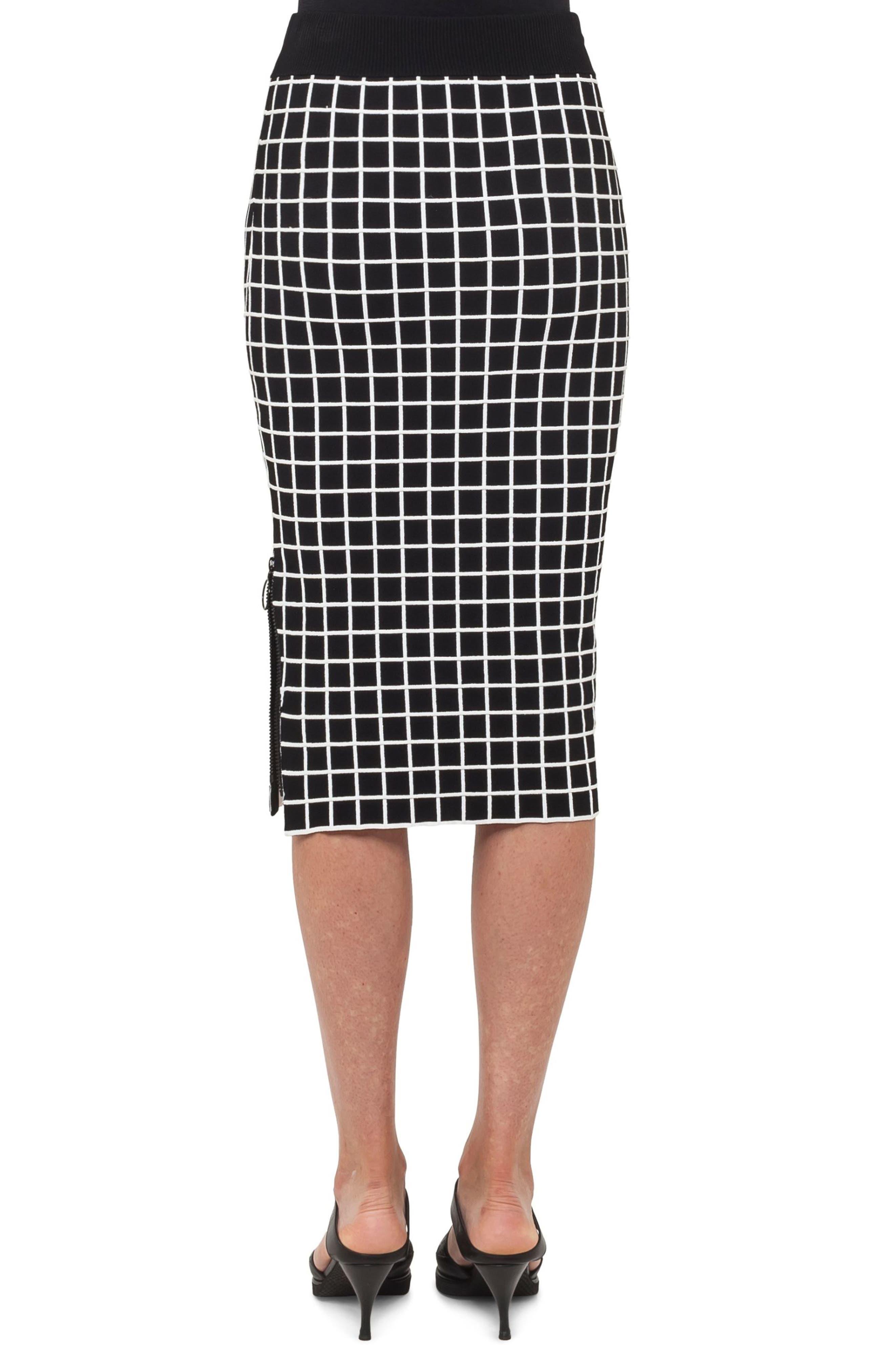 Grid Knit Pencil Skirt,                             Alternate thumbnail 2, color,                             960