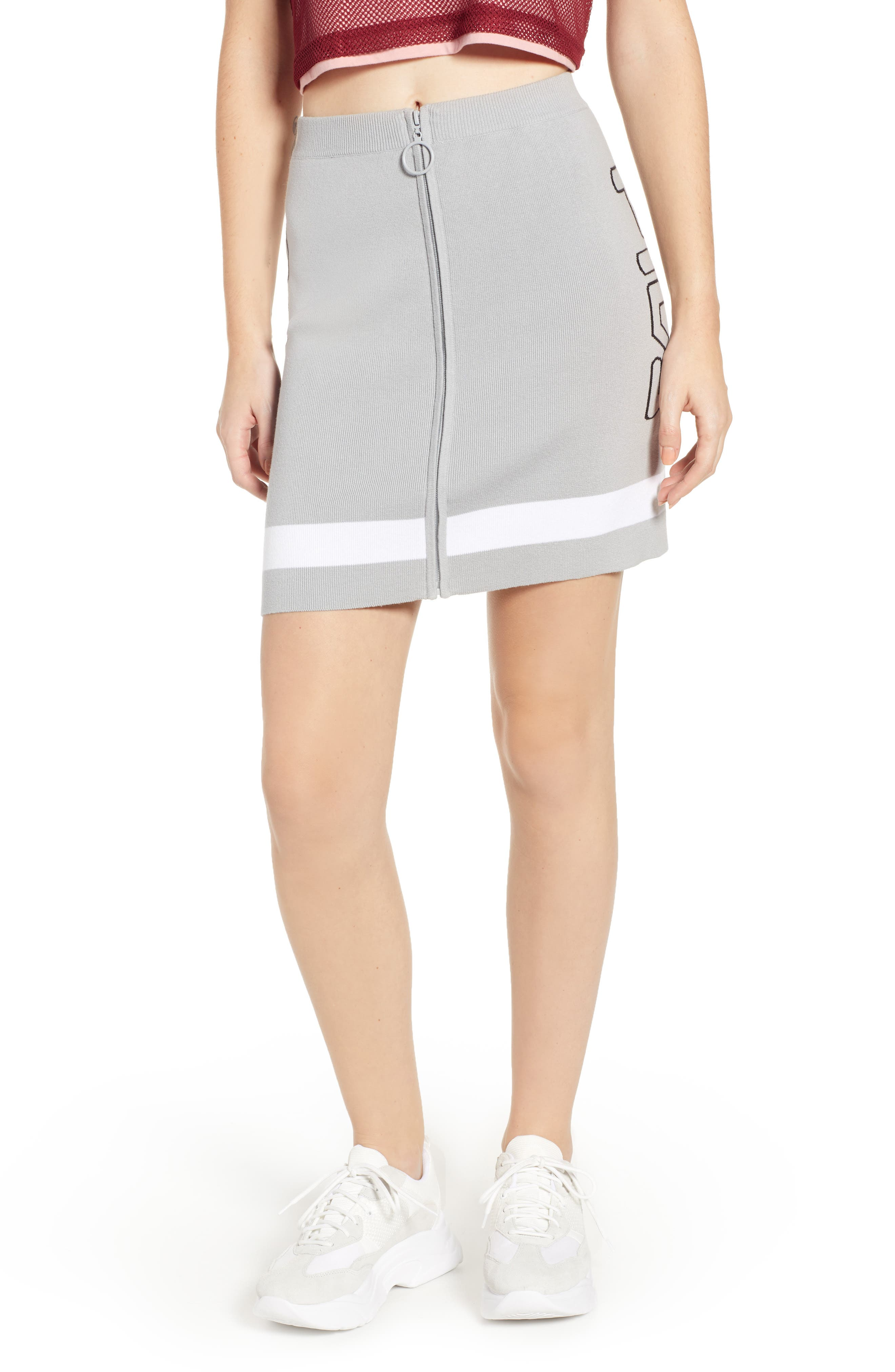 Fila Katia Knit Skirt, Grey