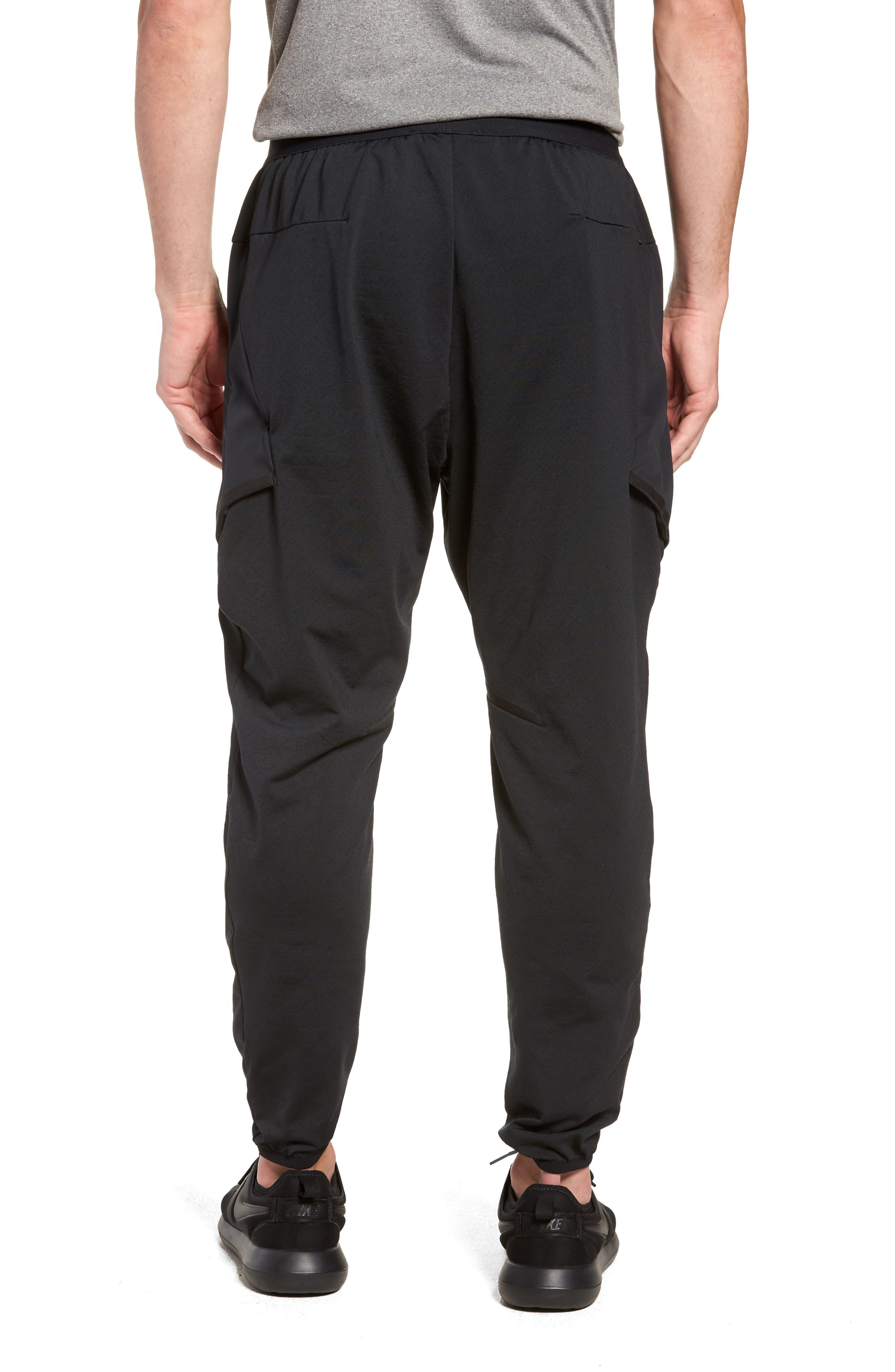 Training Flex Pants,                             Alternate thumbnail 2, color,                             BLACK/ BLACK