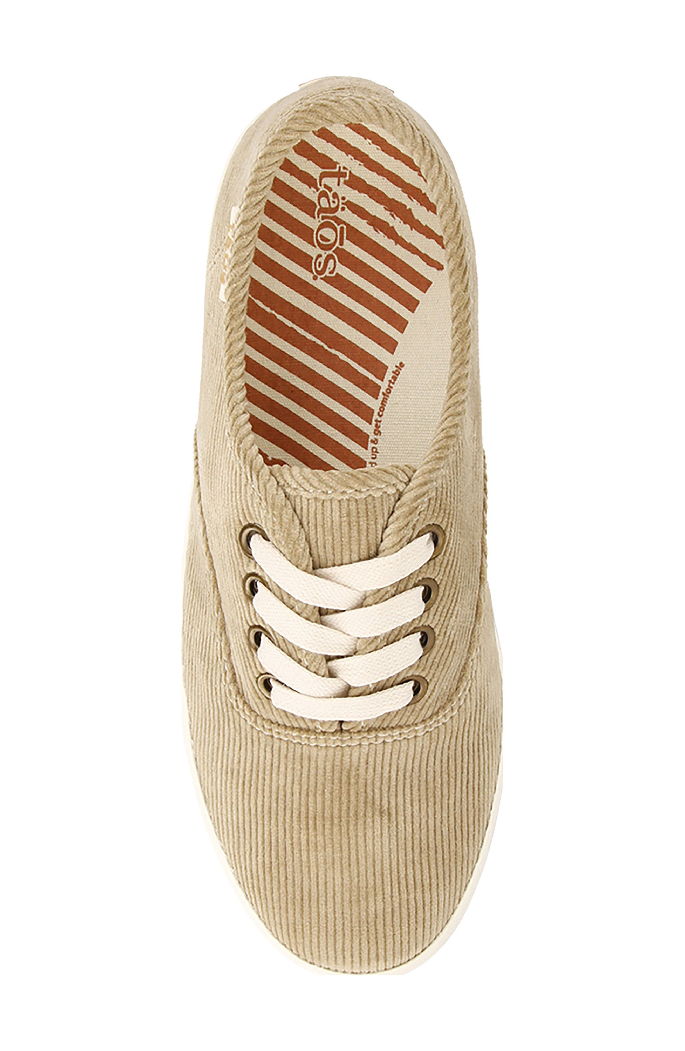 Guest Star Sneaker,                             Alternate thumbnail 4, color,                             KHAKI CORD FABRIC