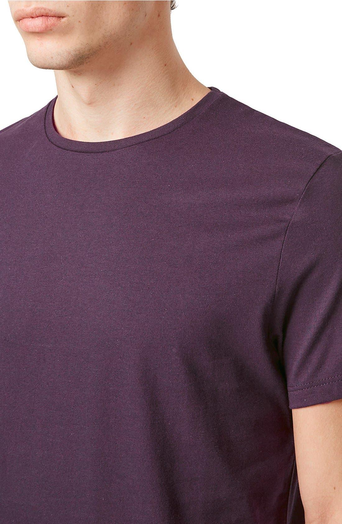 Slim Fit Crewneck T-Shirt,                             Alternate thumbnail 358, color,