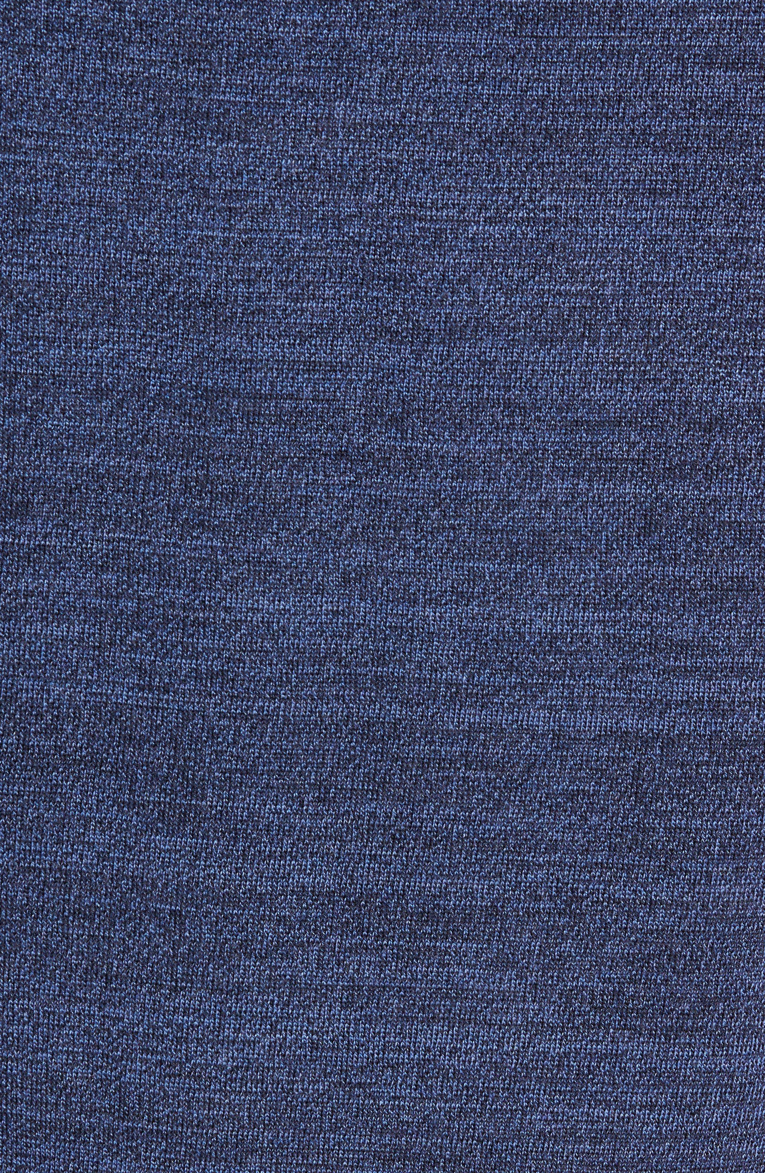 Intaria Star Merino Wool Sweater,                             Alternate thumbnail 5, color,                             BLUE