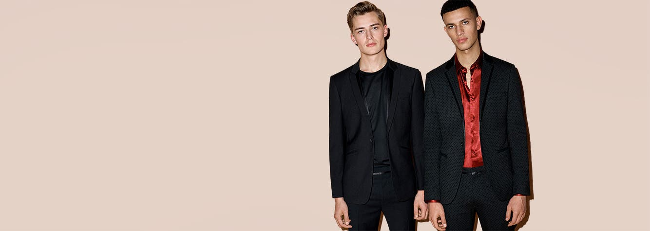 Suit up and step out. Men's suits from Topman