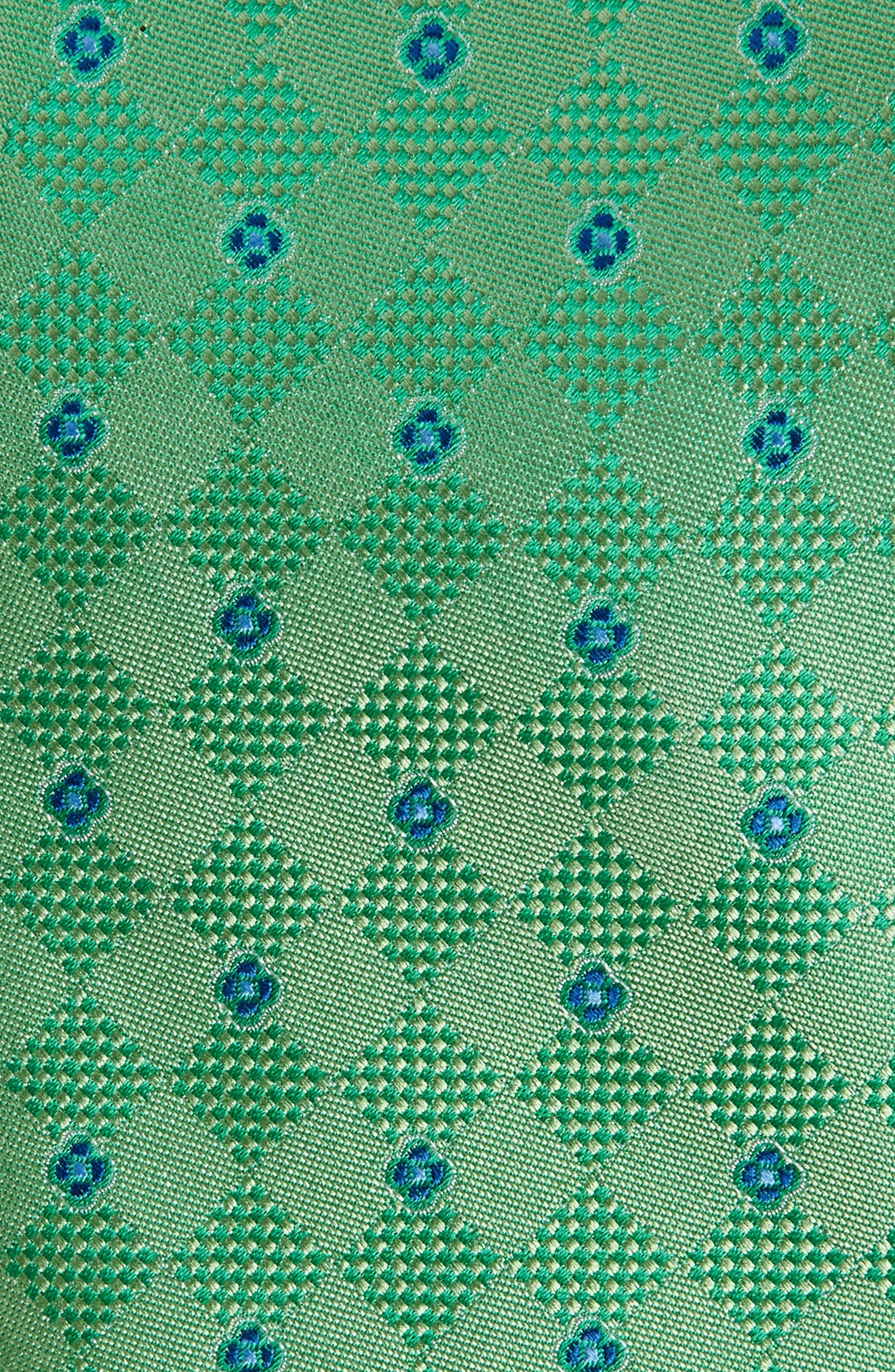 Augustine Silk Tie,                             Alternate thumbnail 2, color,                             GREEN