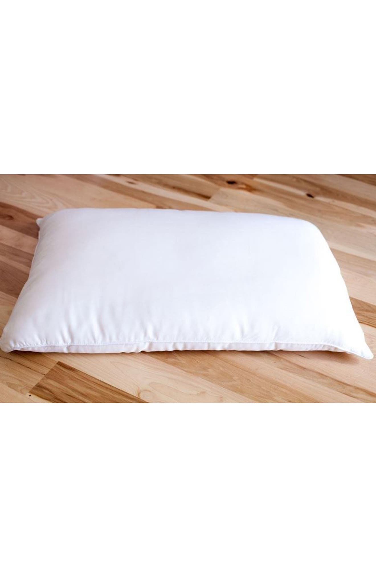 Pillow,                             Alternate thumbnail 2, color,                             WHITE