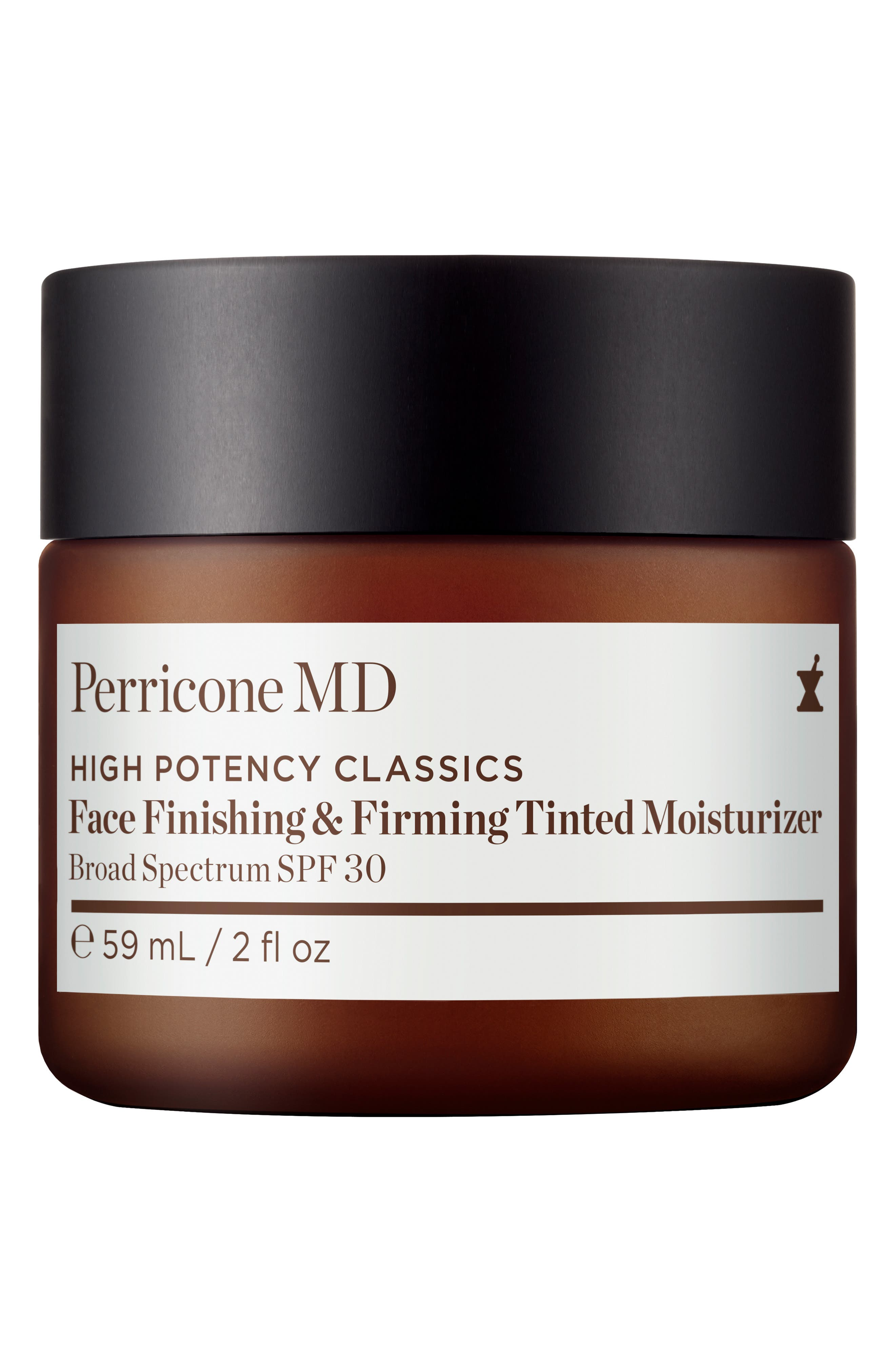 High Potency Classic Face Finishing & Firming Moisturizer Tint SPF 30, Main, color, NO COLOR