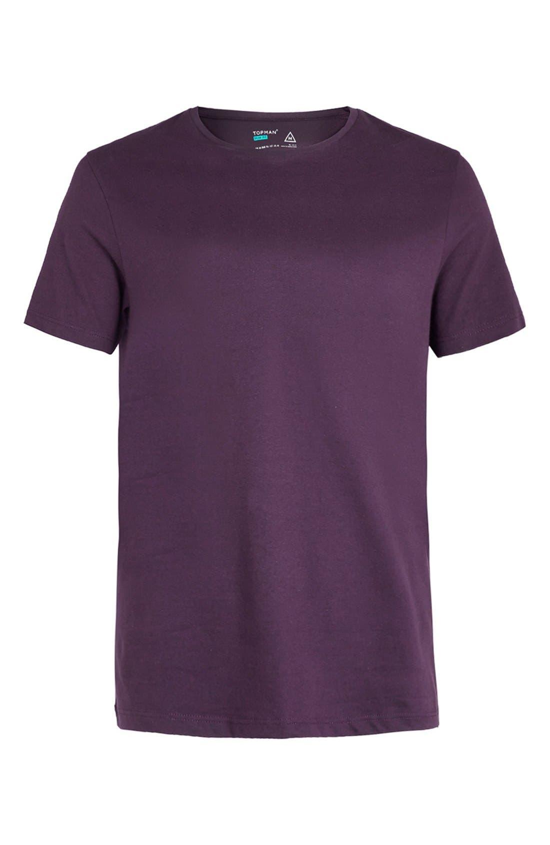 Slim Fit Crewneck T-Shirt,                             Alternate thumbnail 264, color,