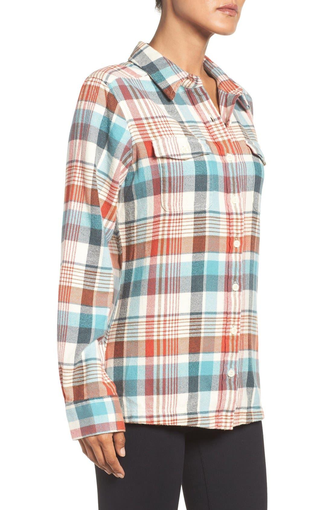 'Fjord' Flannel Shirt,                             Alternate thumbnail 61, color,