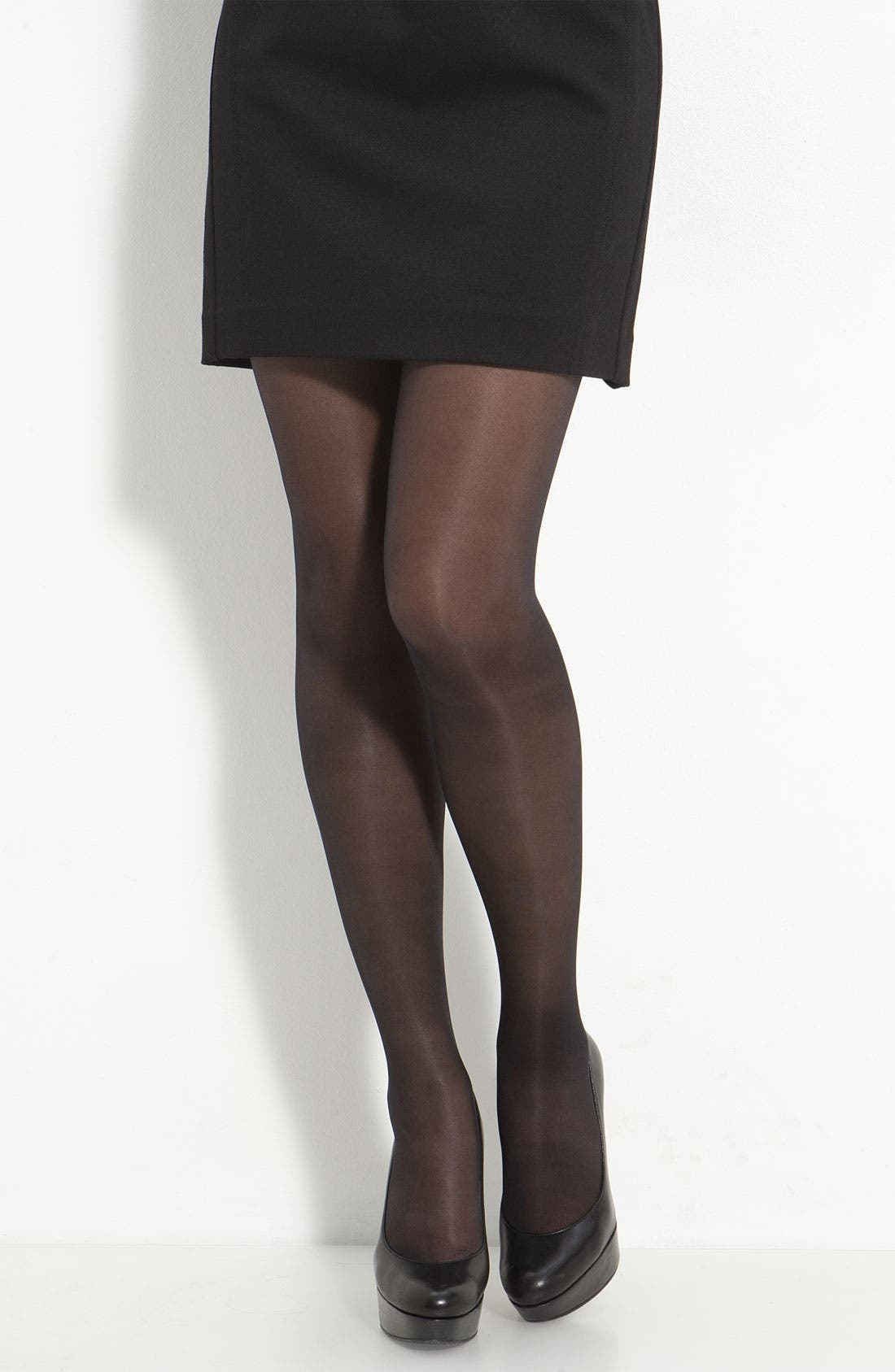 Repos 70 Control Top Pantyhose,                         Main,                         color, BLACK