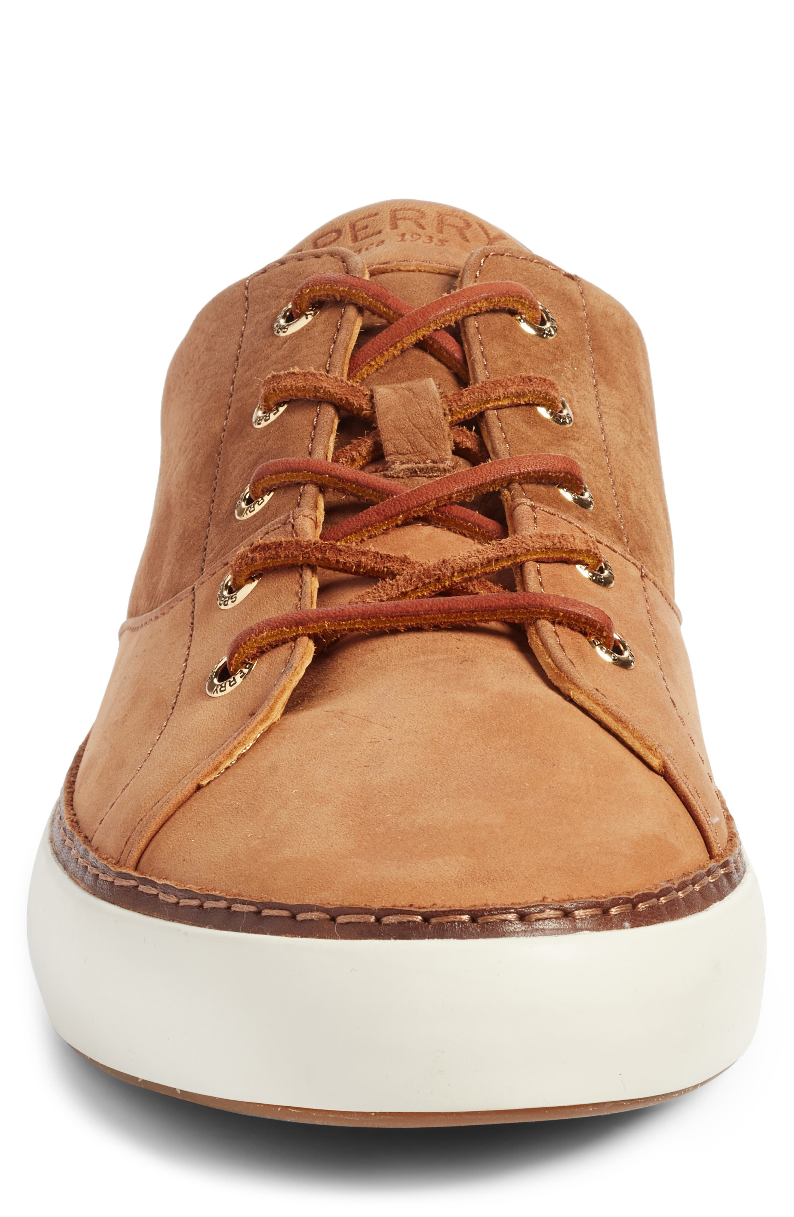 Gold Cup Haven Sneaker,                             Alternate thumbnail 4, color,                             TAN LEATHER