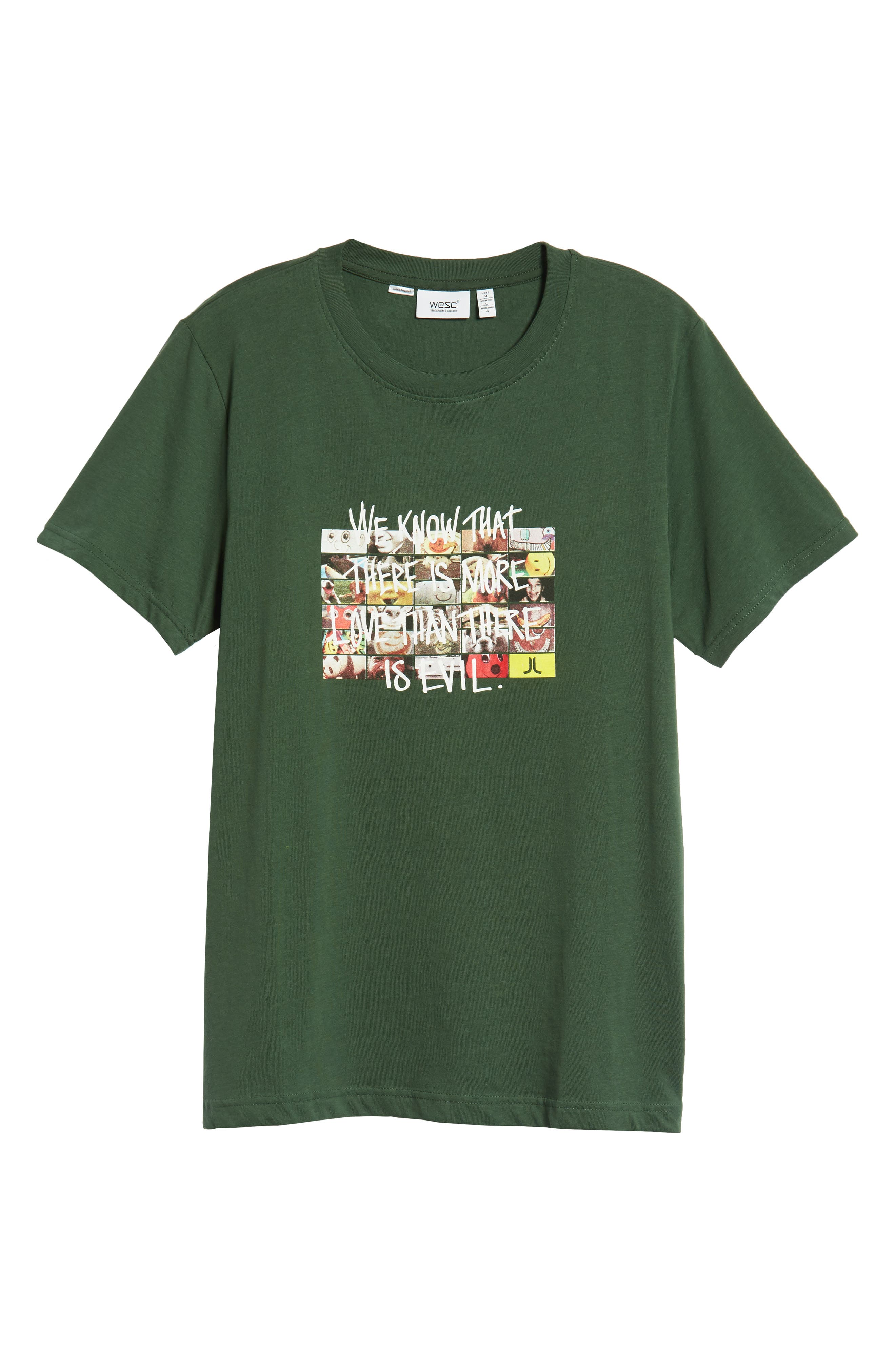 Max More Love Graphic T-Shirt,                             Alternate thumbnail 6, color,                             SYCAMORE