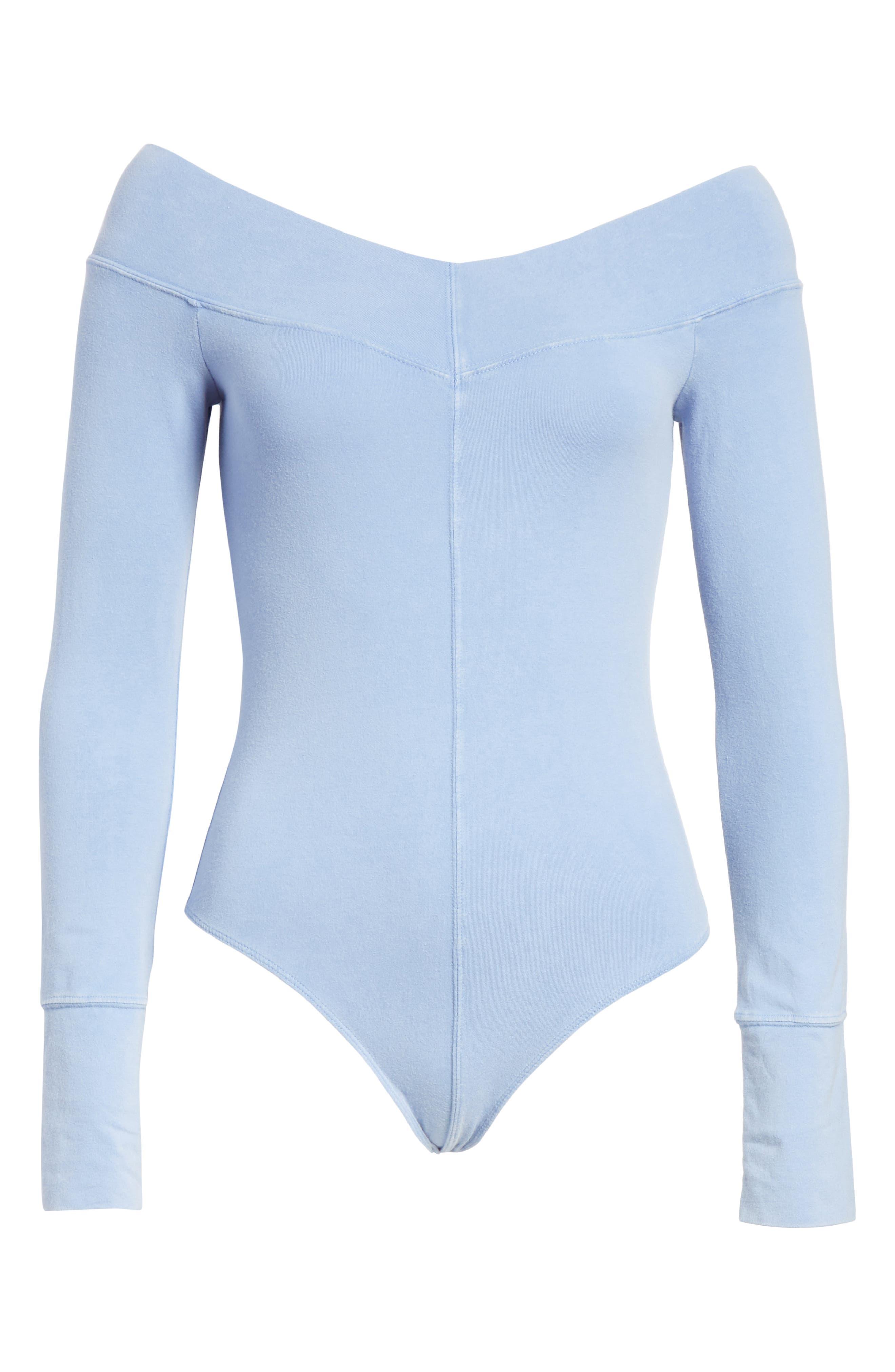 Zone Out Bodysuit,                             Alternate thumbnail 6, color,                             BLUE