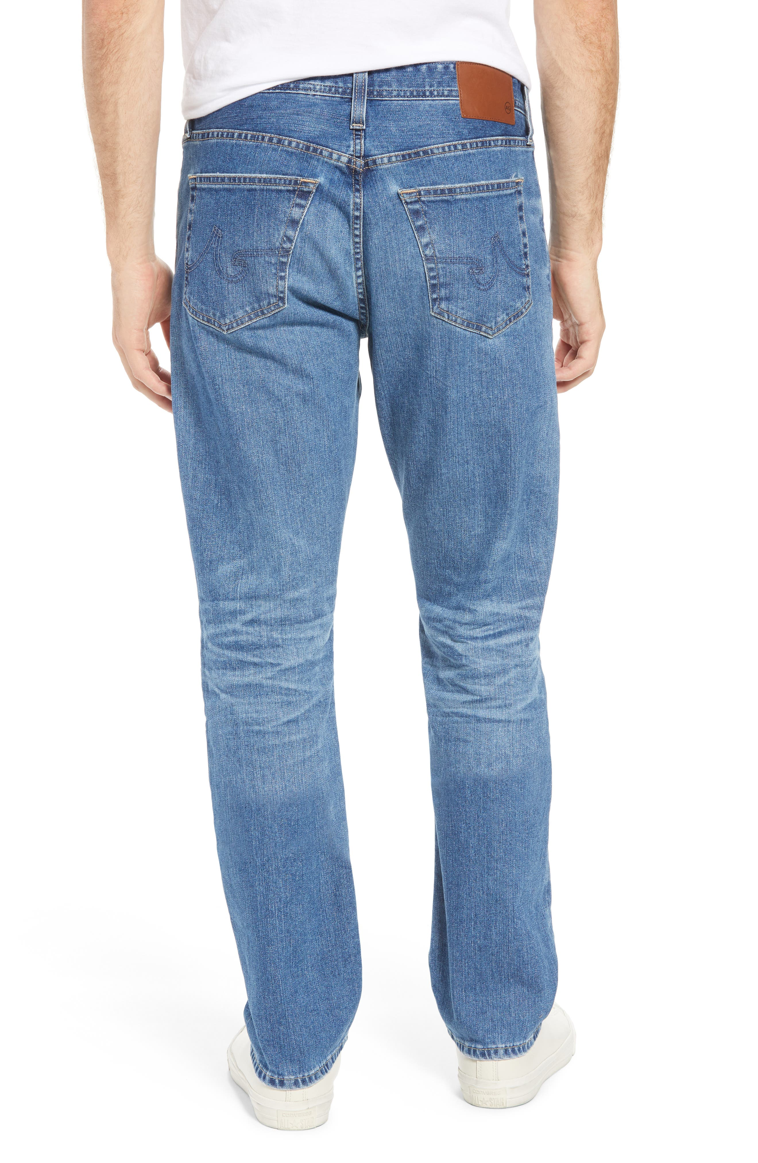 Everett Slim Straight Leg Jeans,                             Alternate thumbnail 2, color,                             15 YEARS OPEN ROAD