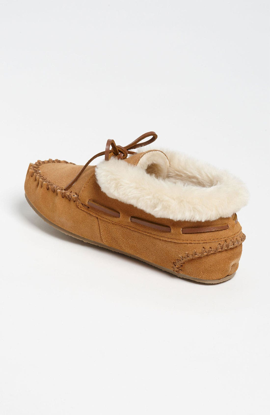 'Chrissy' Slipper Bootie,                             Alternate thumbnail 8, color,                             CINNAMON SUEDE