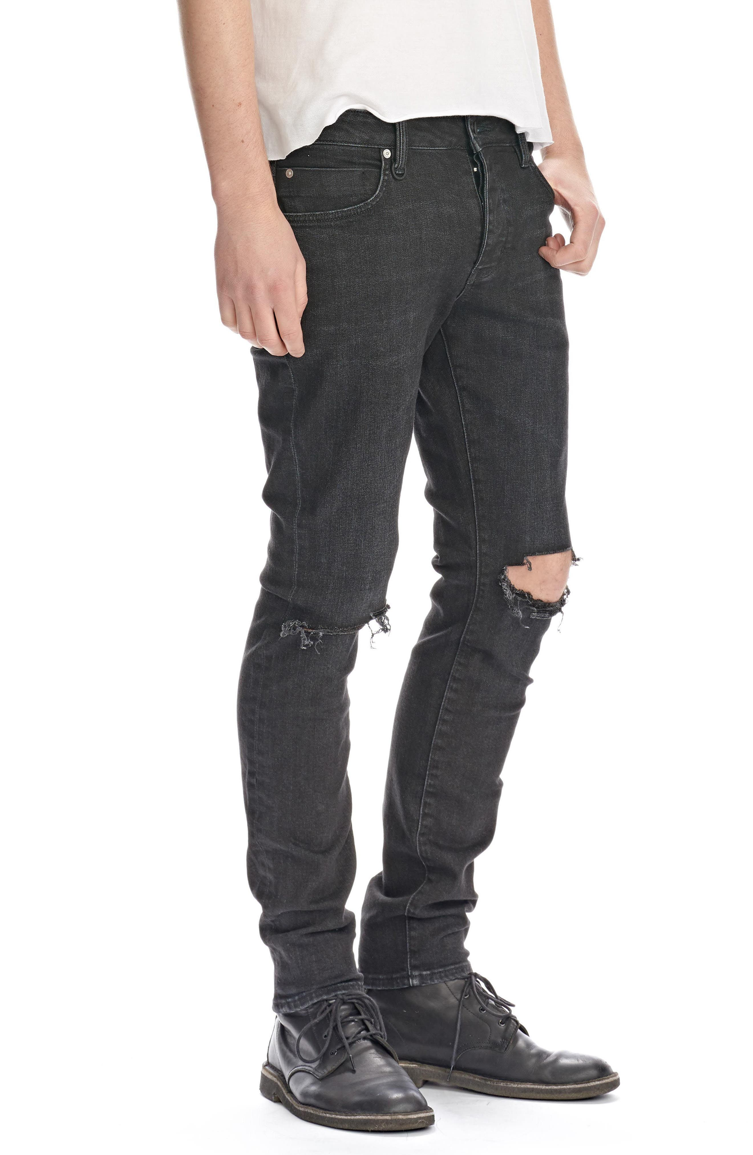 Iggy Skinny Fit Jeans,                             Alternate thumbnail 3, color,