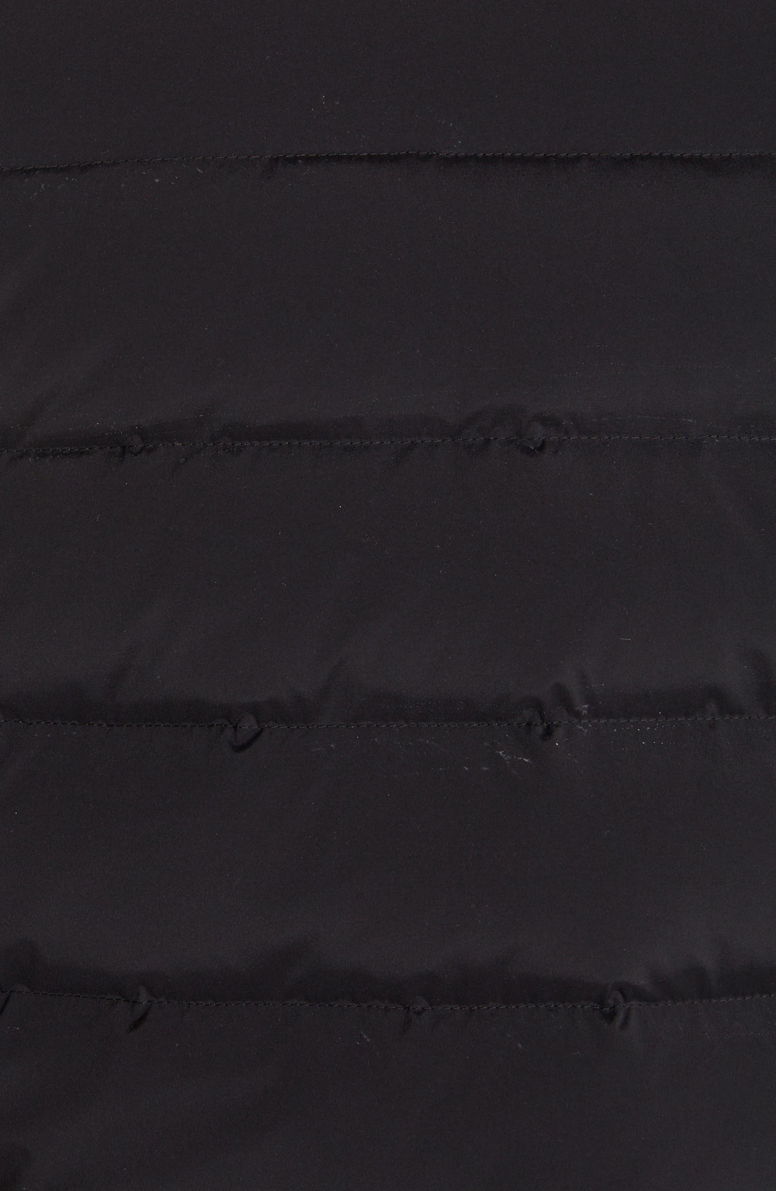 Merak Down Vest,                             Alternate thumbnail 5, color,                             BLACK