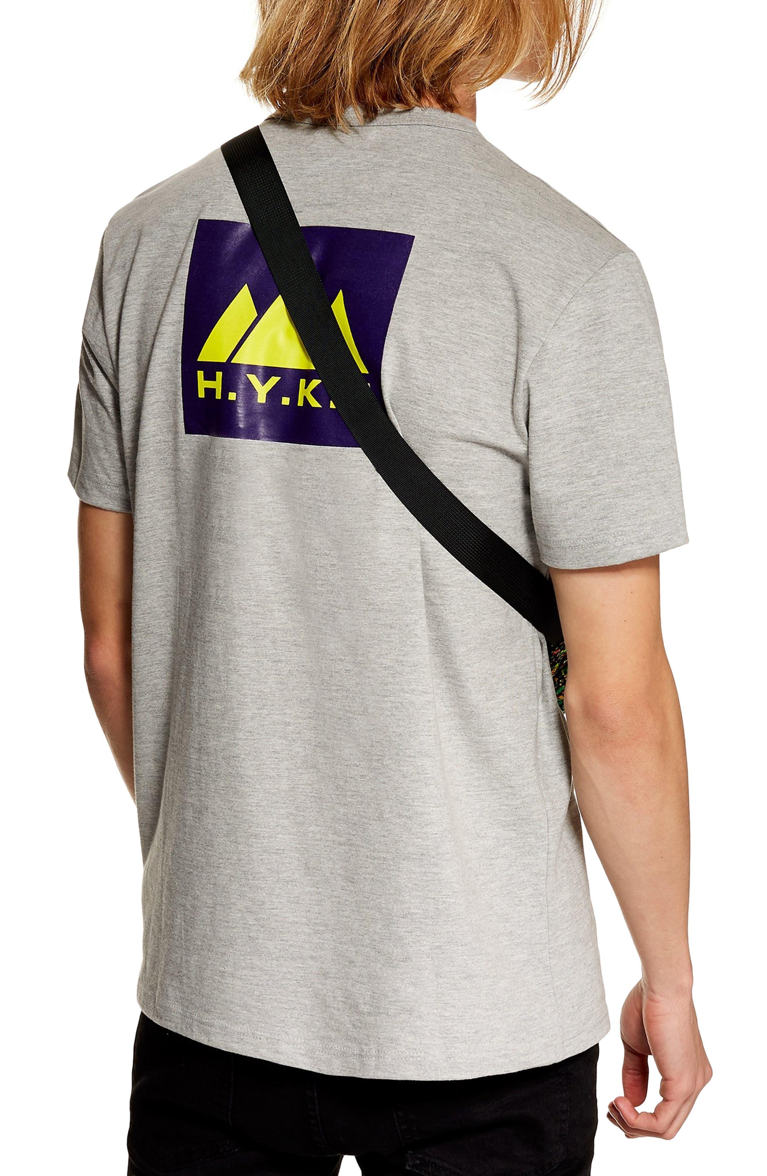 H.Y.K.E. Graphic T-Shirt,                             Alternate thumbnail 2, color,                             GREY