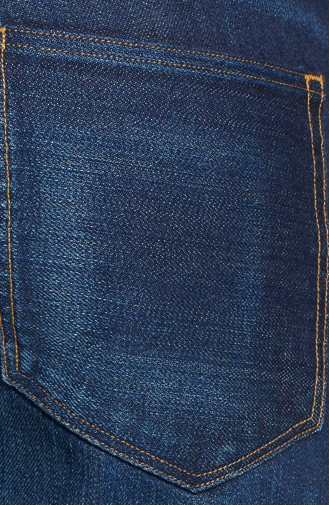 'M4' Straight Leg Selvedge Jeans,                             Alternate thumbnail 2, color,                             413