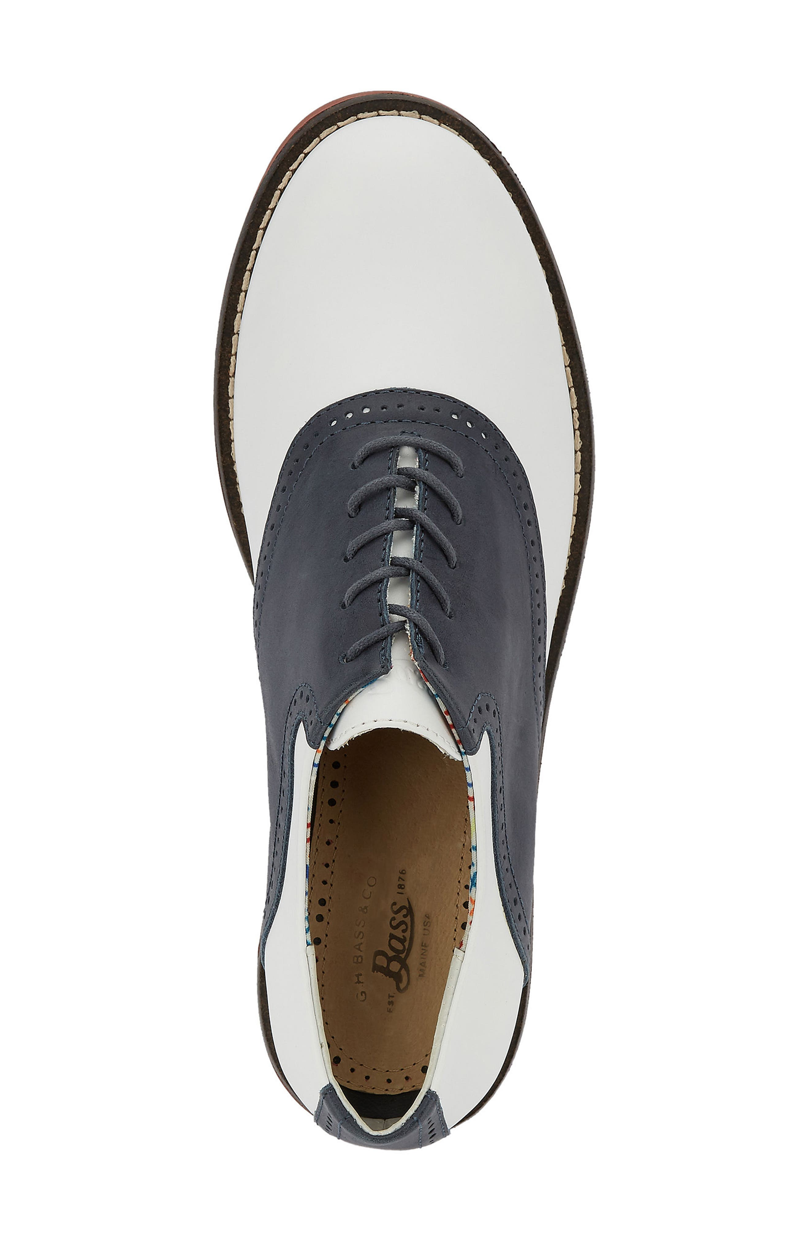 G.H. Bass and Co. Dora Lace-Up Oxford,                             Alternate thumbnail 12, color,