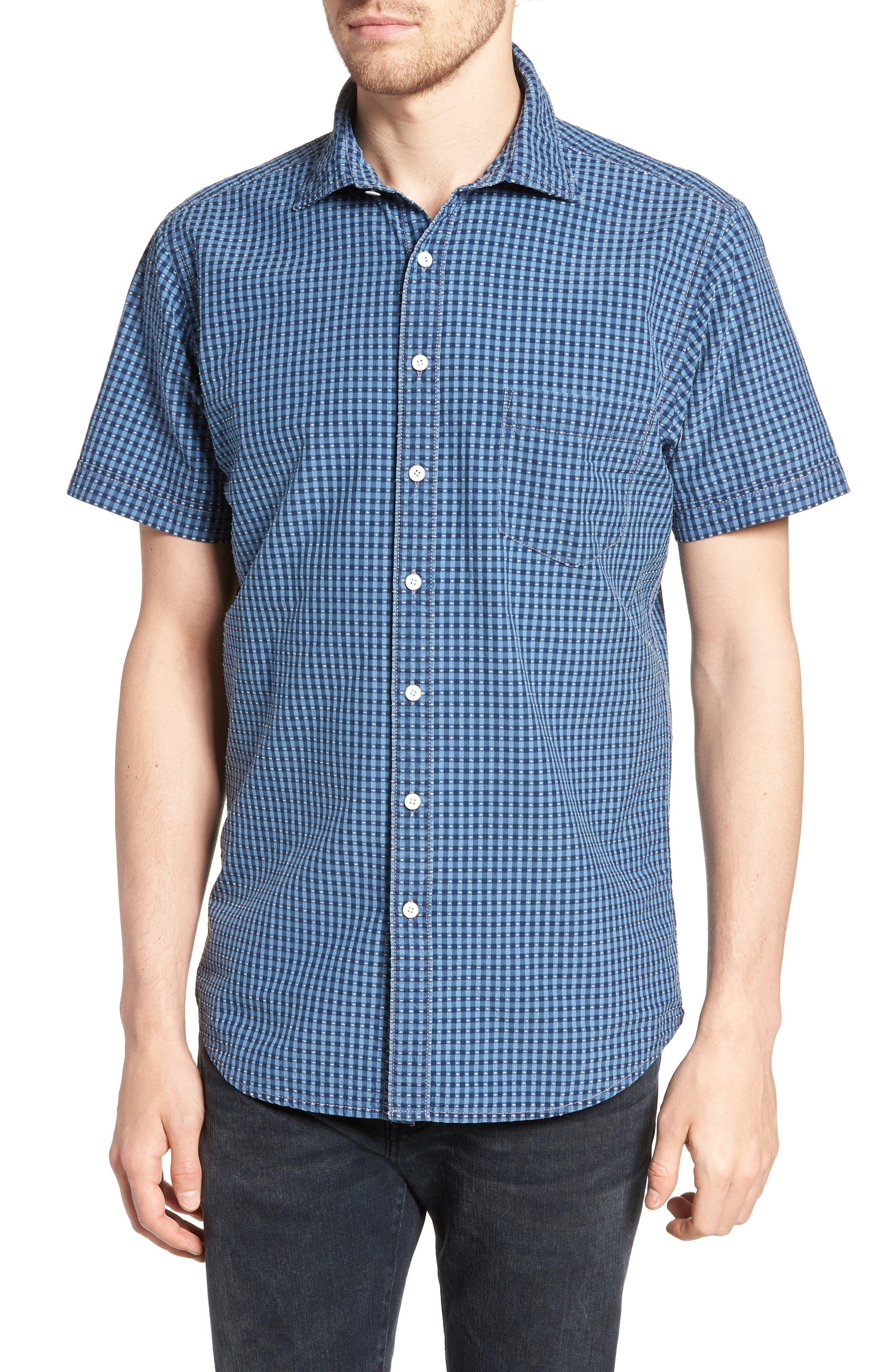 RODD & GUNN Sandon Block Sport Shirt, Main, color, 420