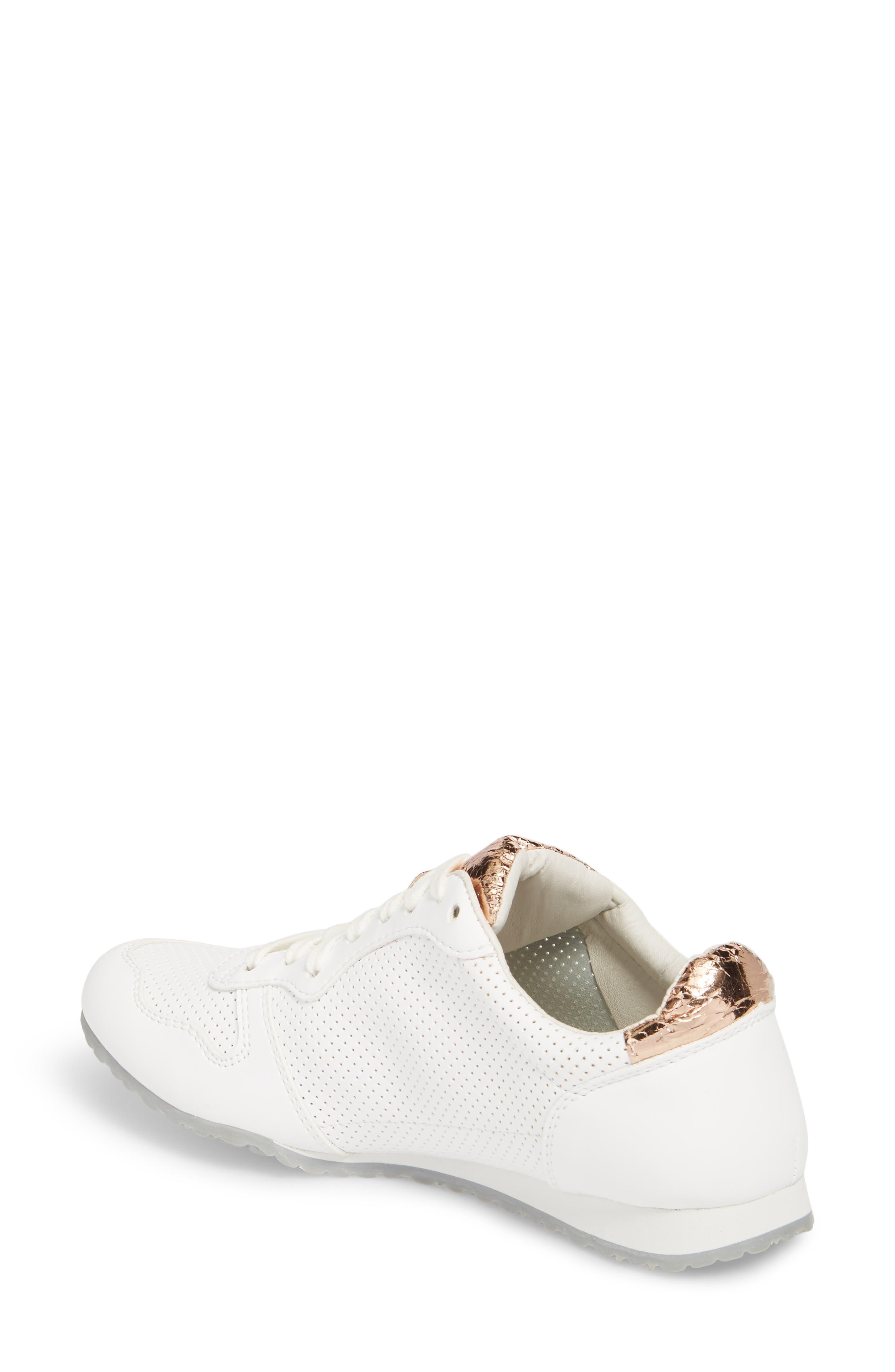 Joanna Perforated Sneaker,                             Alternate thumbnail 2, color,                             124