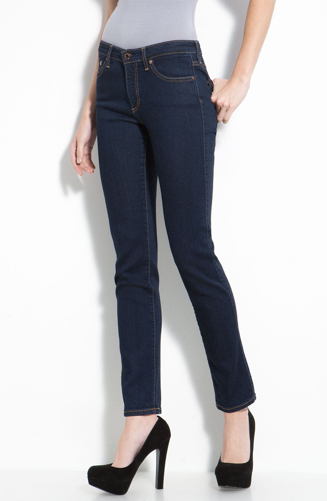 Skinny Stretch Jeans,                             Main thumbnail 3, color,