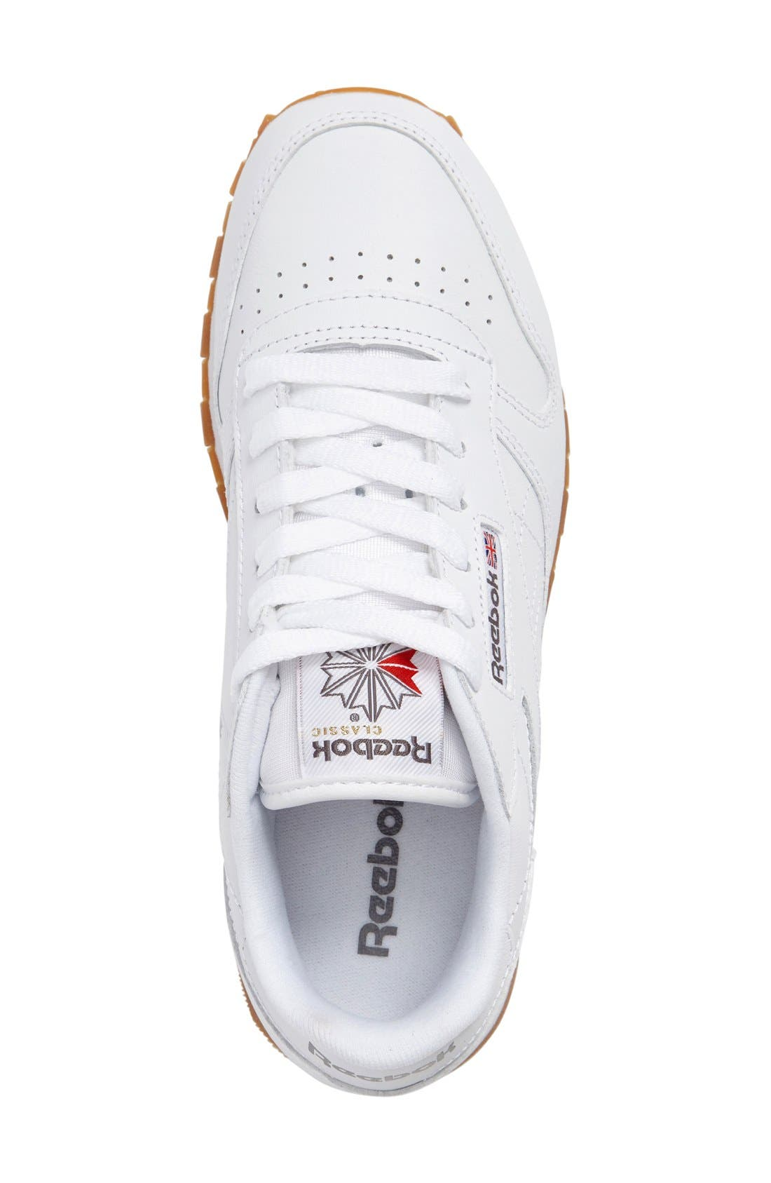 Classic Leather Sneaker,                             Alternate thumbnail 23, color,