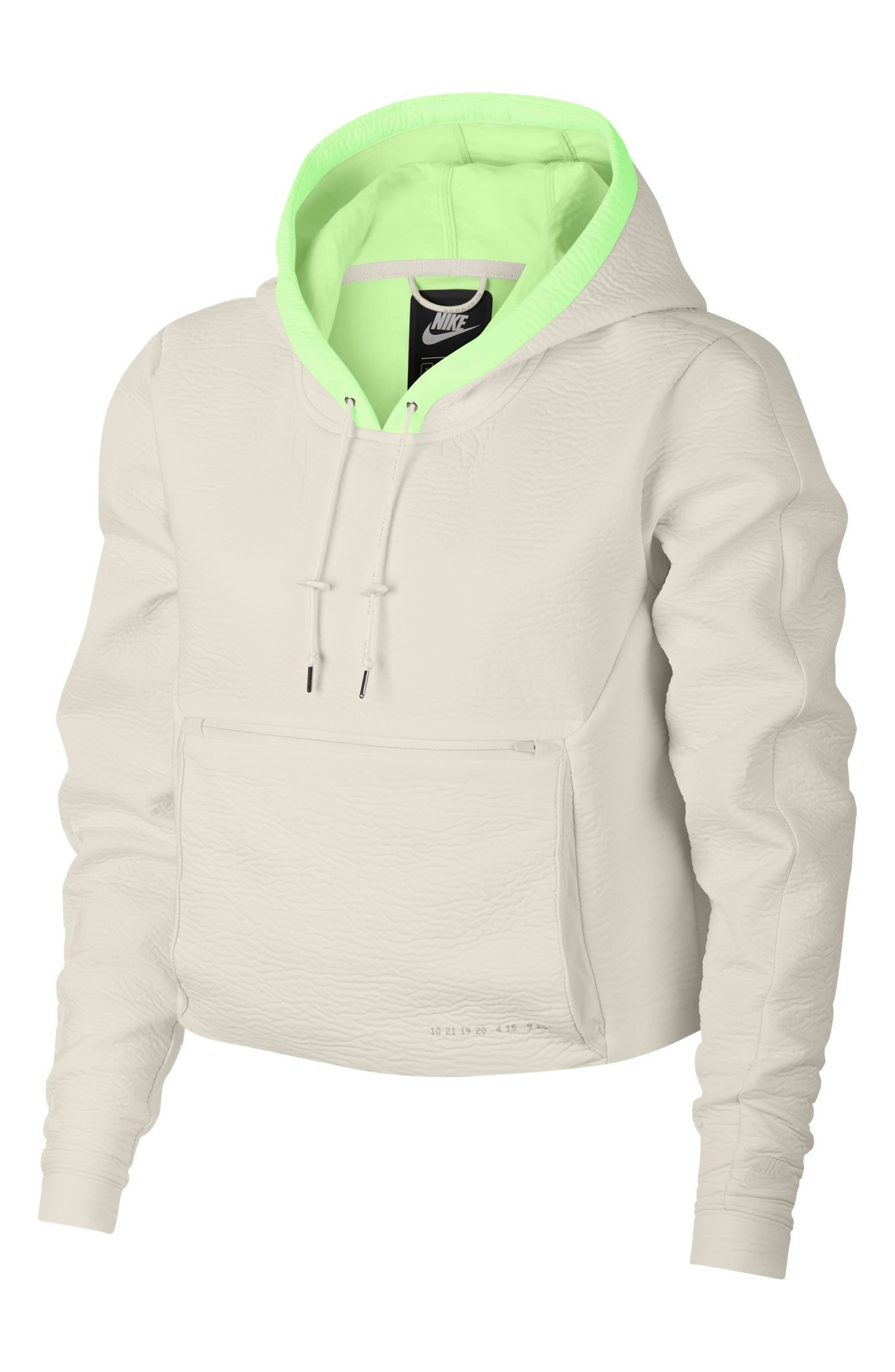 Sportswear Tech Pack Women's Hoodie,                             Main thumbnail 1, color,                             PHANTOM/ PHANTOM