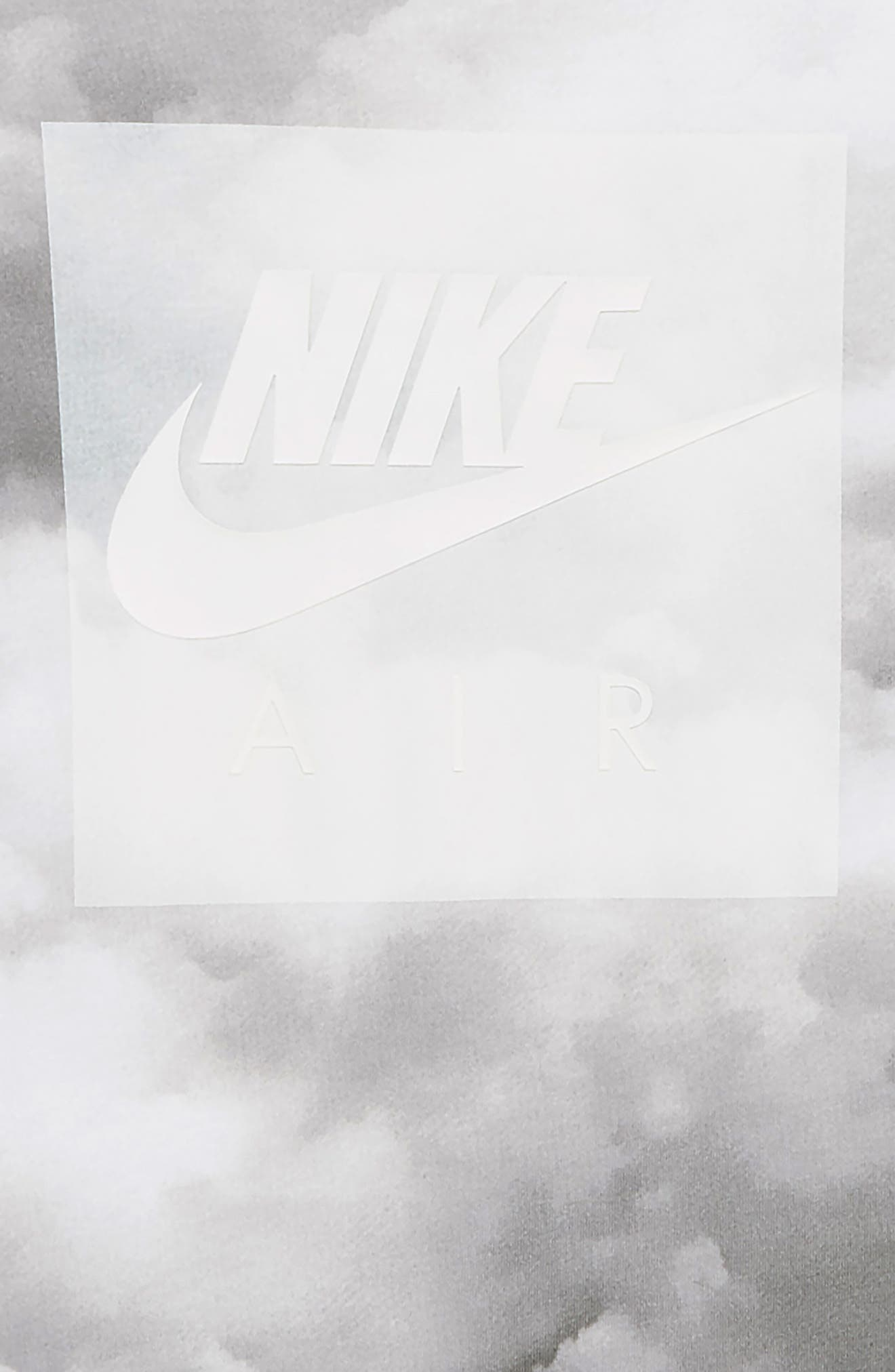 Sportswear Air Graphic T-Shirt,                             Alternate thumbnail 2, color,                             WHITE